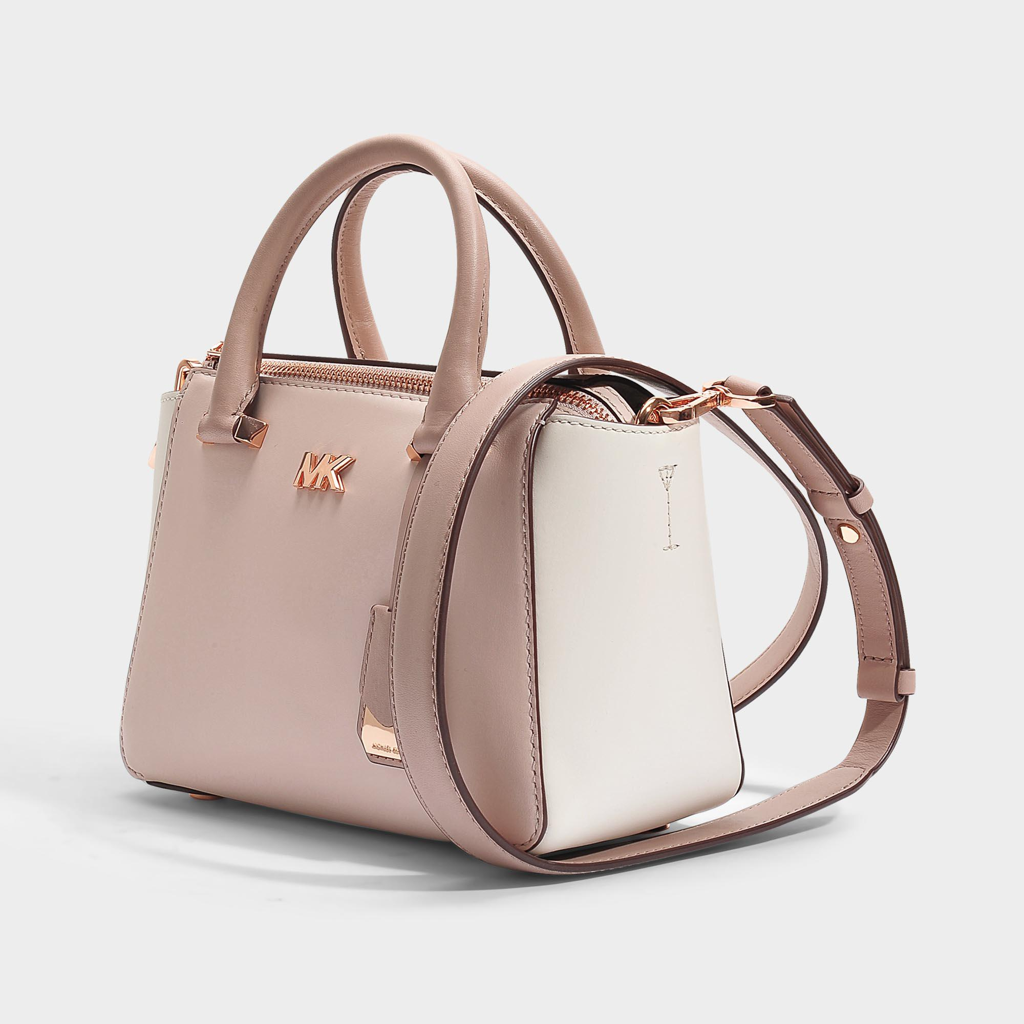 0520fff05ccc Lyst - MICHAEL Michael Kors Nolita Mini Messenger Bag In Pink And ...