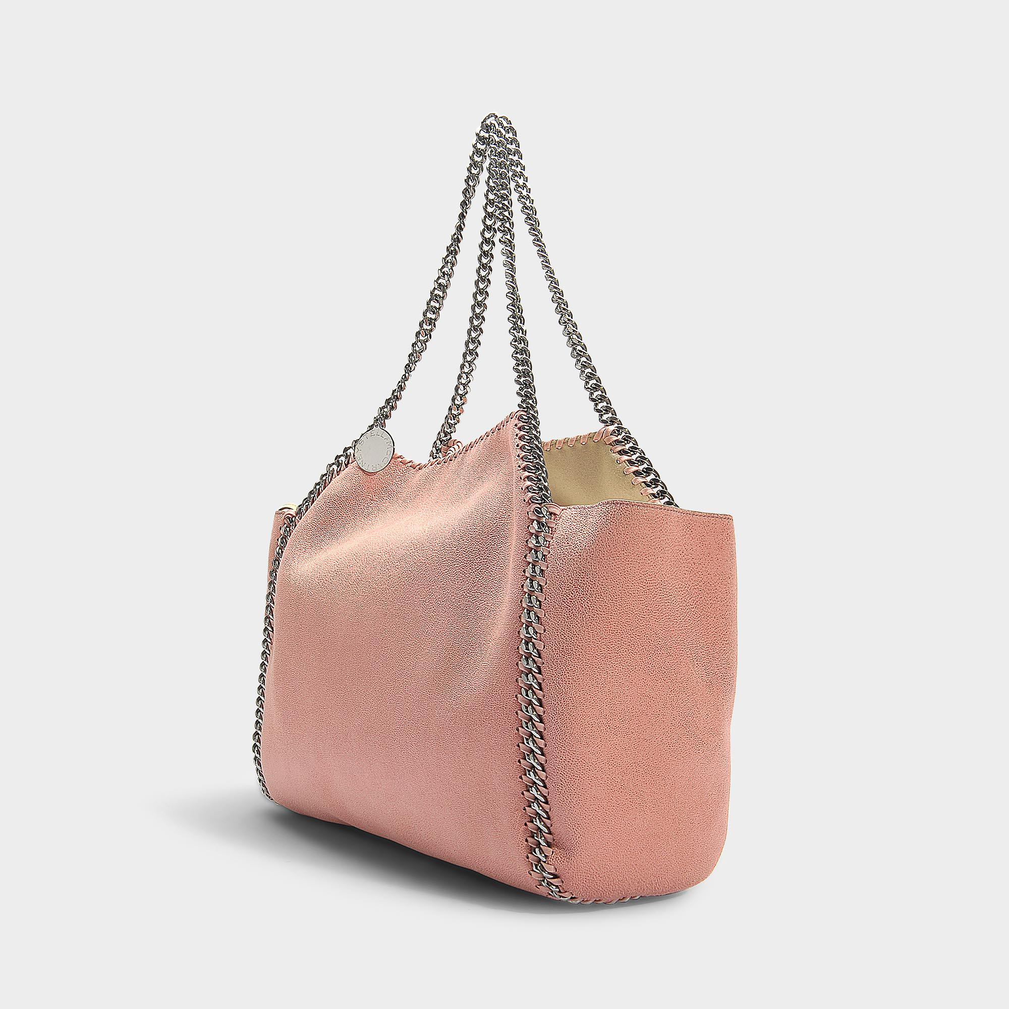 15df1a98f3c4 ... Falabella Small Tote Bag In Blush Synthetic Material - Lyst. View  fullscreen