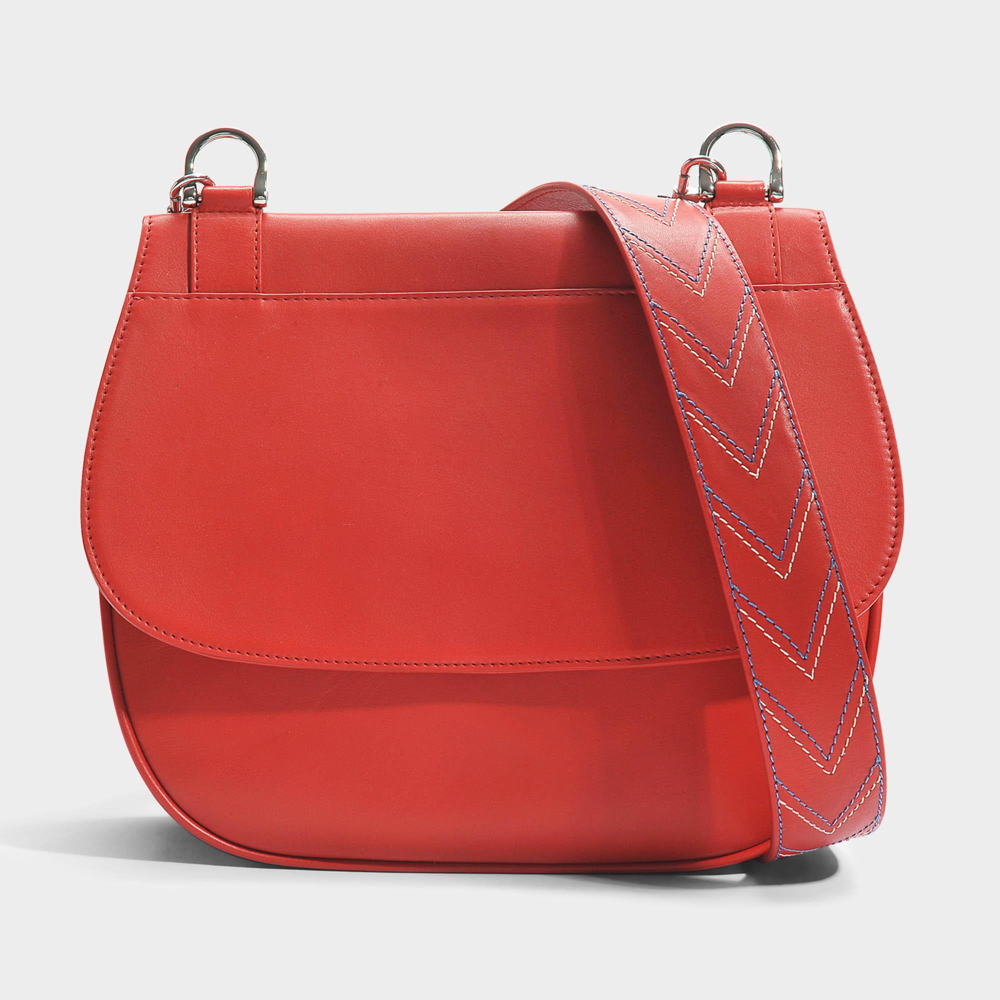 9c49958e97 Sac you hobo en cuir de veau rouge Gerard Darel en coloris Rouge - Lyst