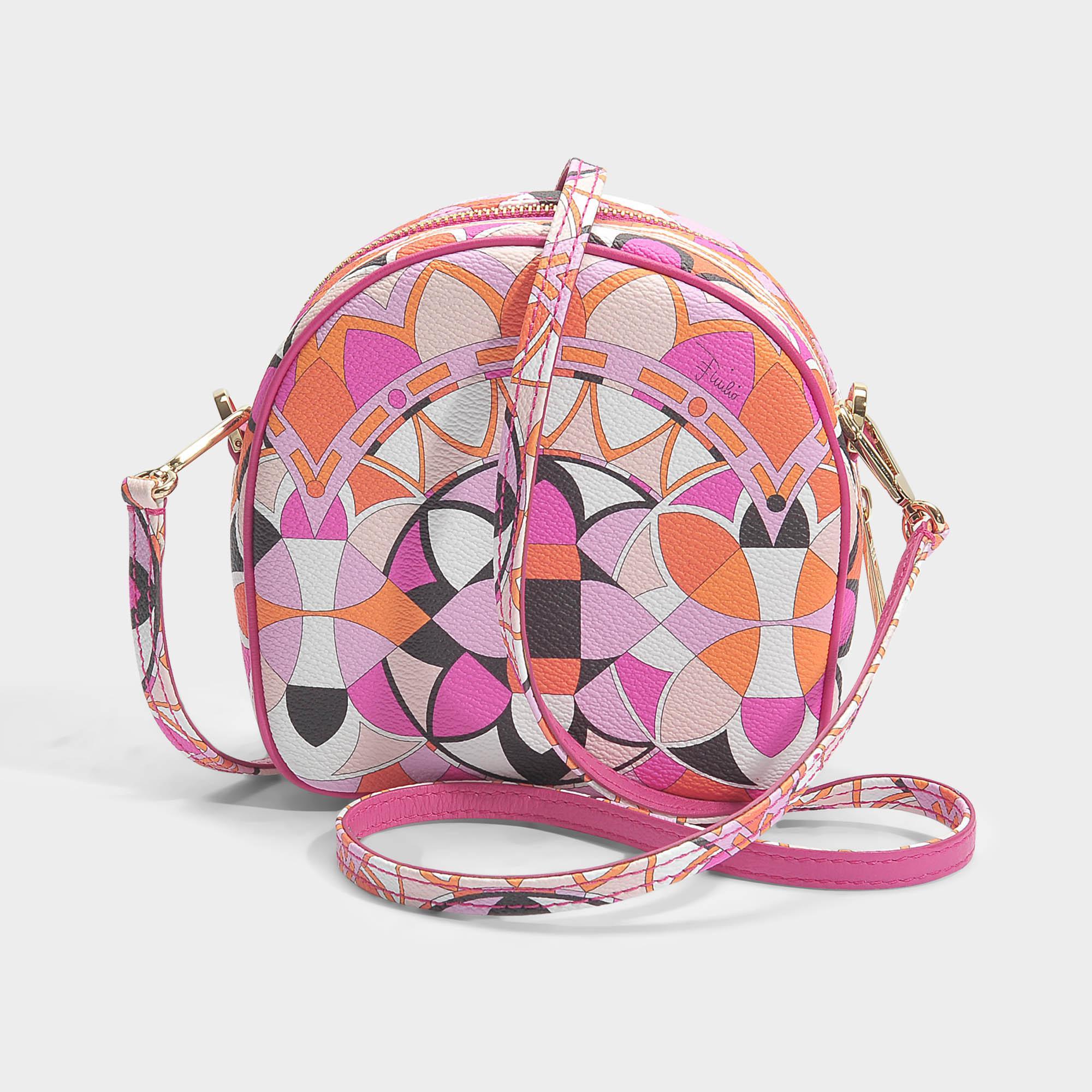 Isadora Small Hatbox Bag in Peony PVC Emilio Pucci TQNx3H2