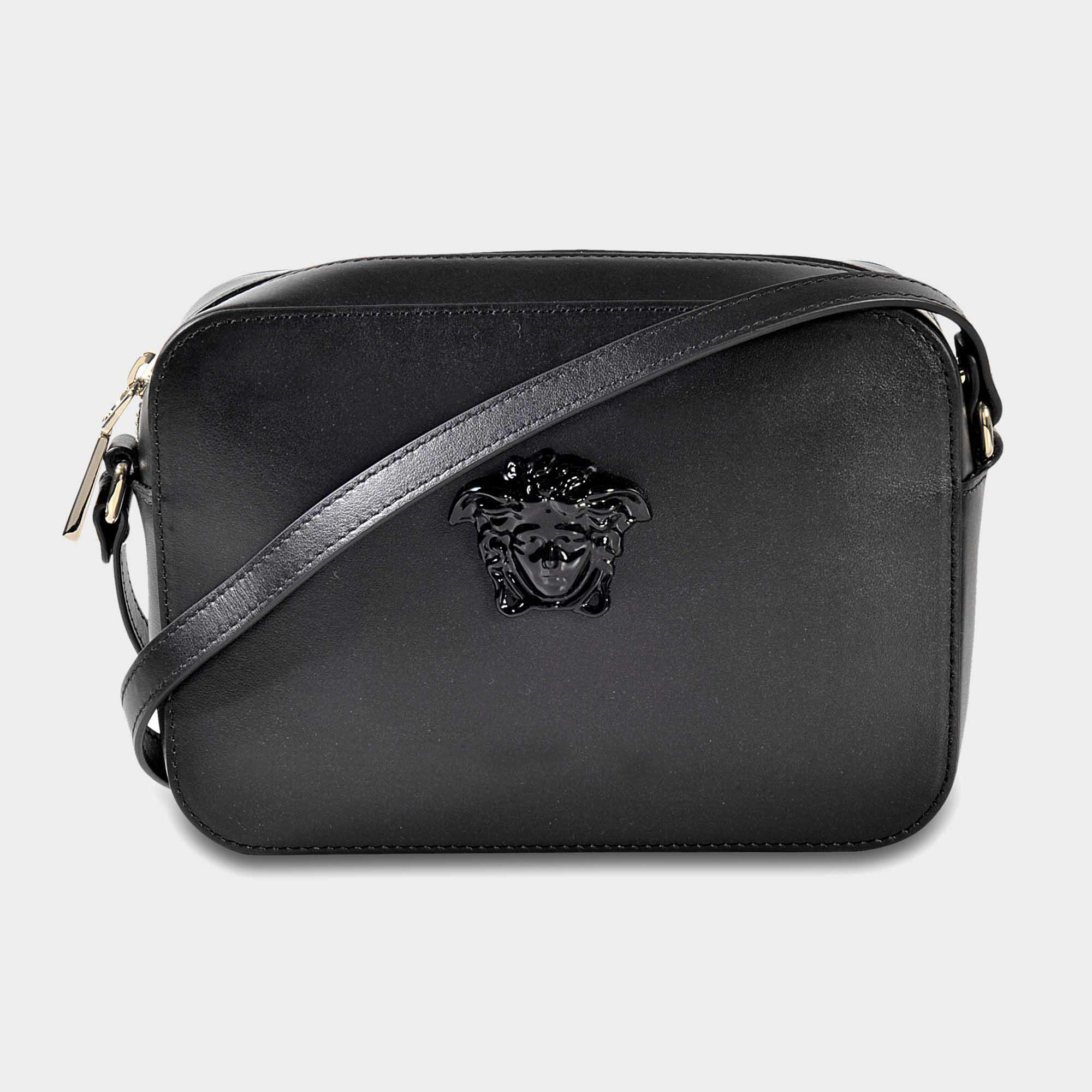 837b6d7ad2b7 Lyst - Versace Palazzo Camera Bag in Black