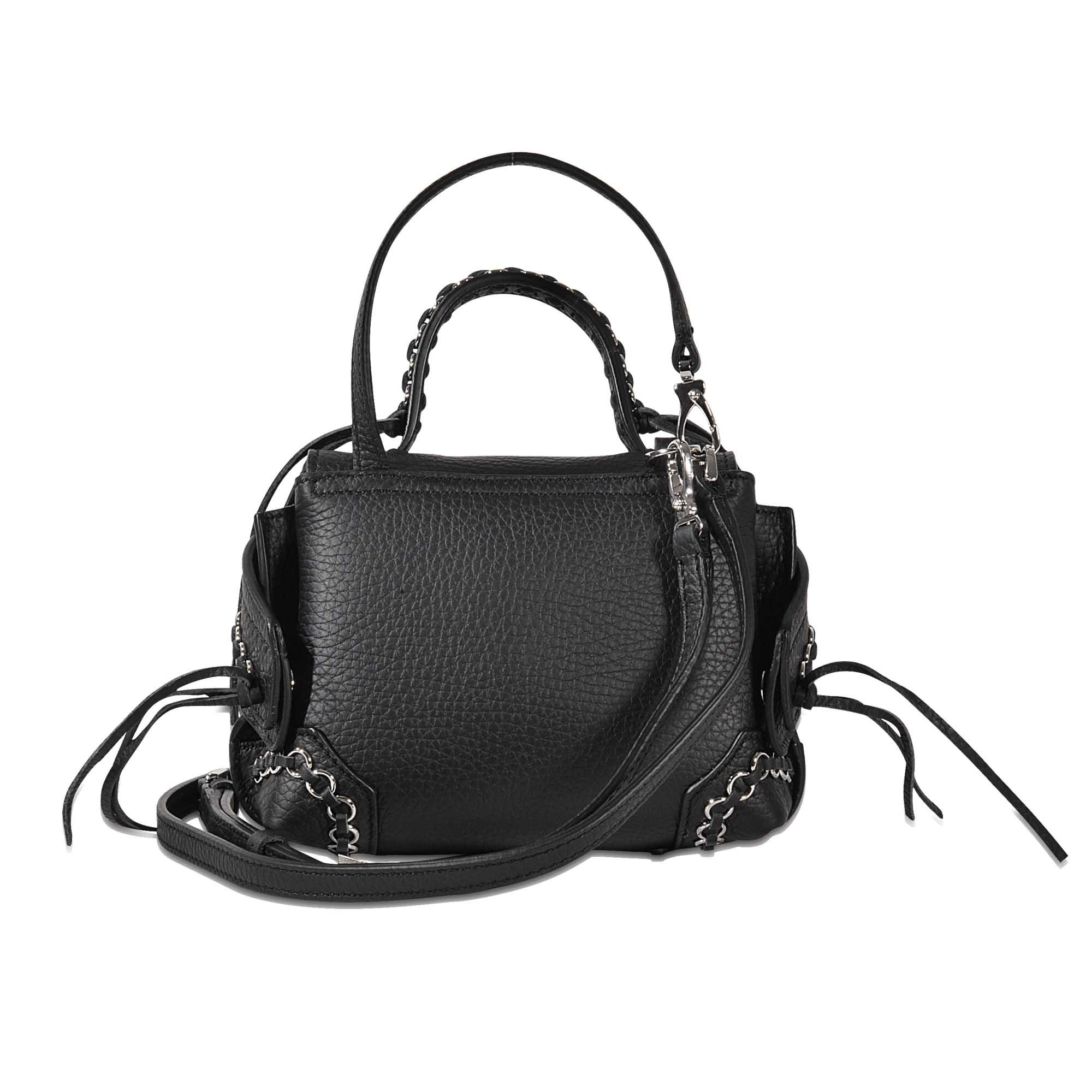 fb4261fc7f7b Lyst - Tod s Wave Ring Micro Charm s Bag in Black