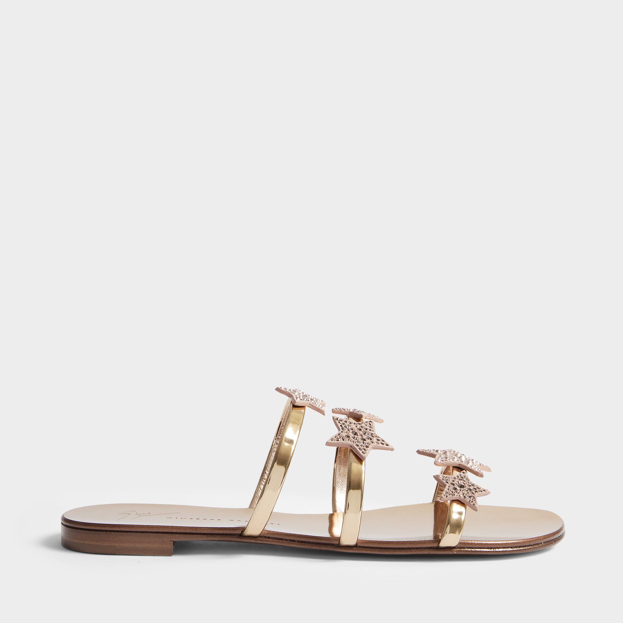 Chaussures Star Slide En Rami Cuir Giuseppe Zanotti lQPyIe