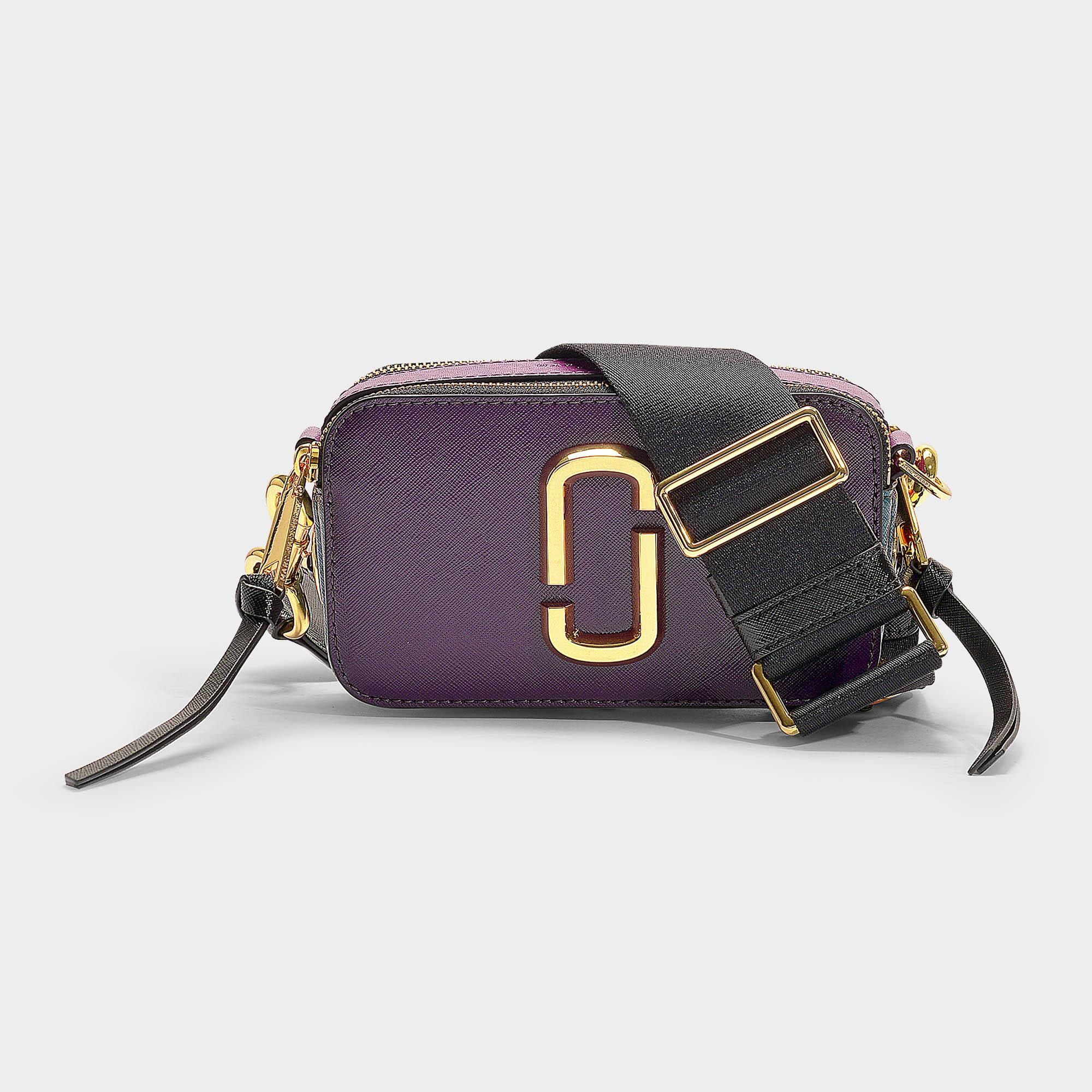 42ca255aa Marc Jacobs Snapshot Buttons Camera Bag In Multicolor Burgundy ...
