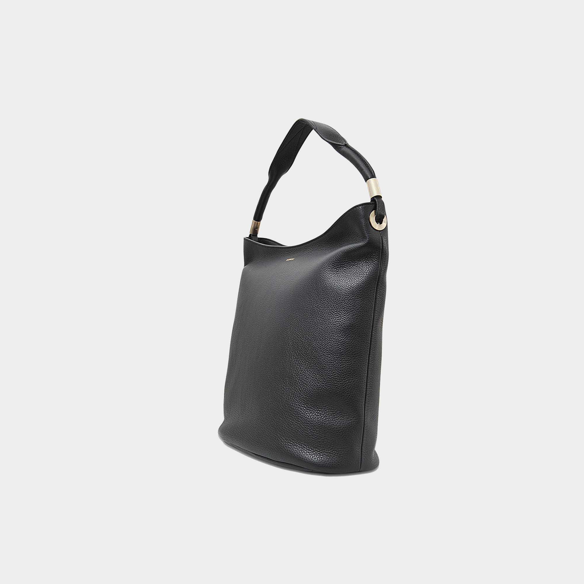 ef8ebbbb5218 Lancel - Black Flore Hobo Bag - Lyst. View fullscreen