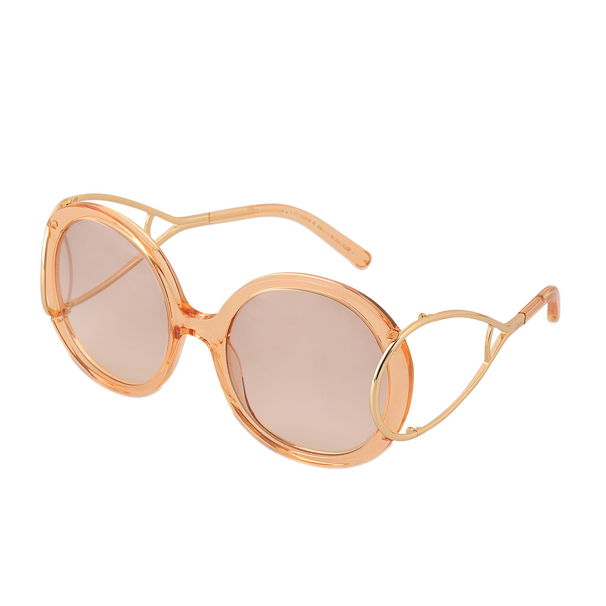 118032ed0da Chloé Ce703s Jackson Sunglasses in Natural - Lyst