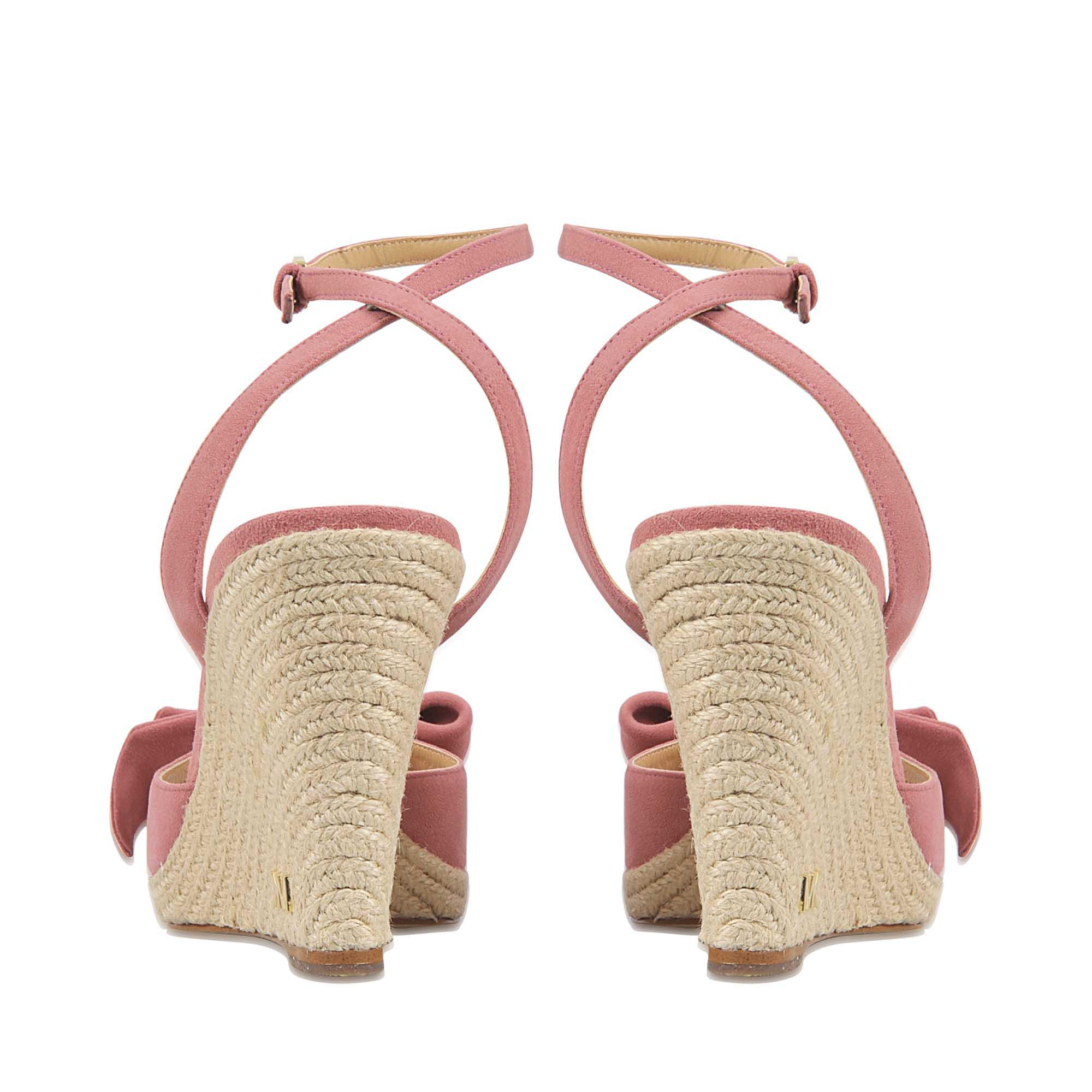 95388e961db Lyst - MICHAEL Michael Kors Willa Wedge in Pink