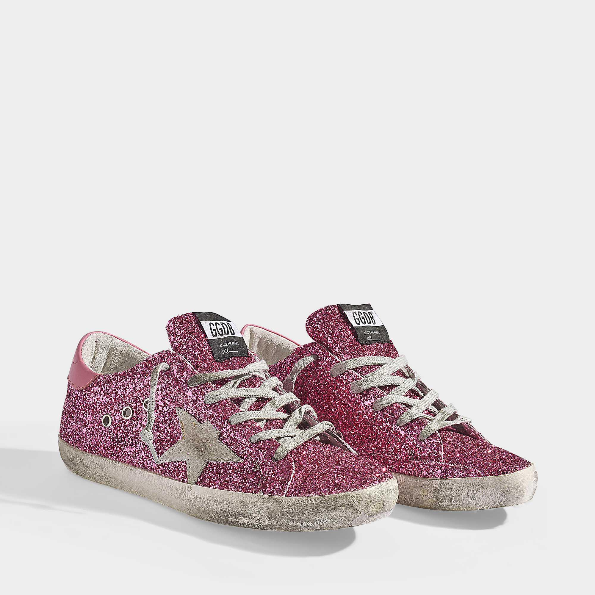 reputable site 94718 0148e golden-goose-deluxe-brand-Pink-Superstar-Sneakers-In-Pink-Glitter-Calfskin.jpeg