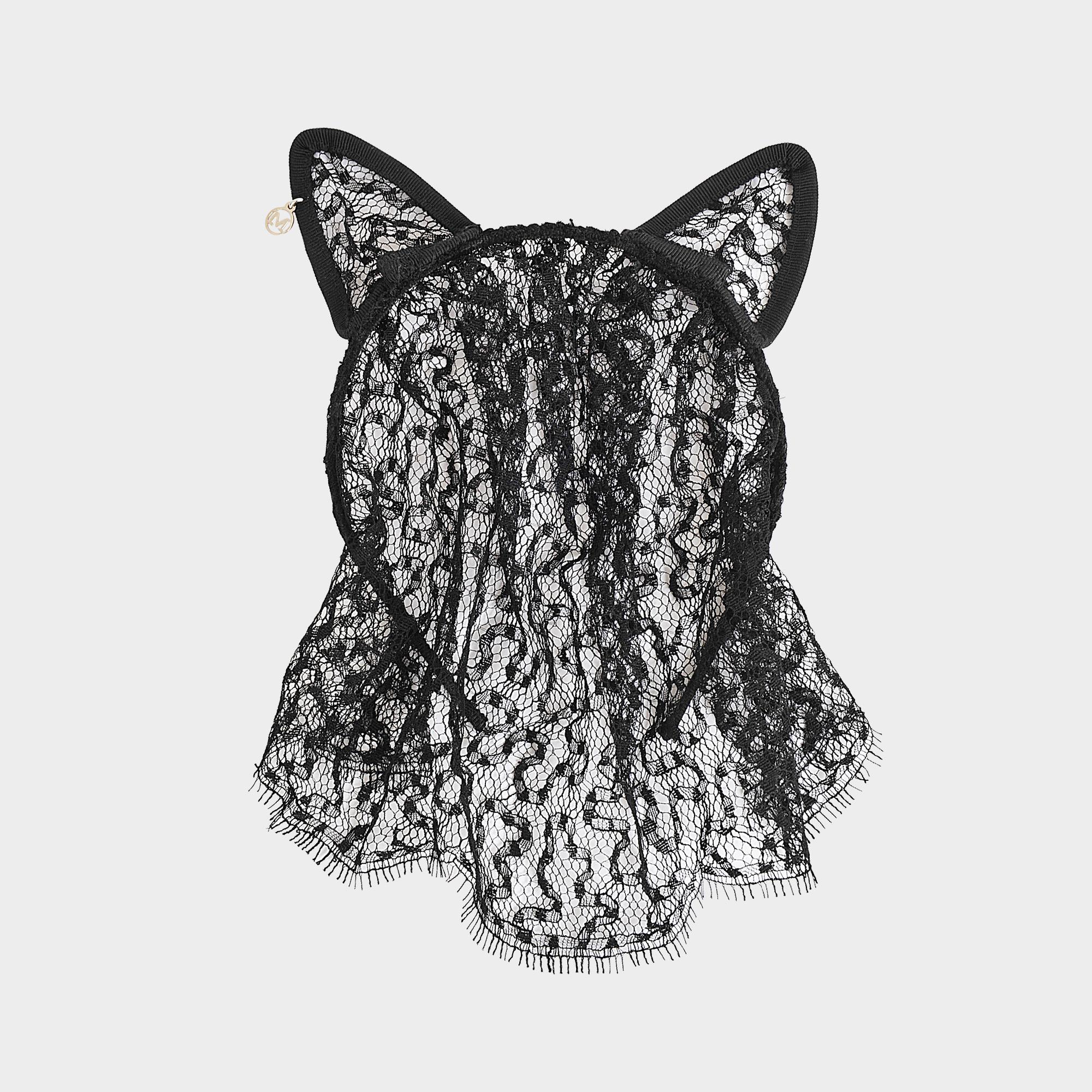 Cat Ears & Veil Lace headband Maison Michel SZXJYH