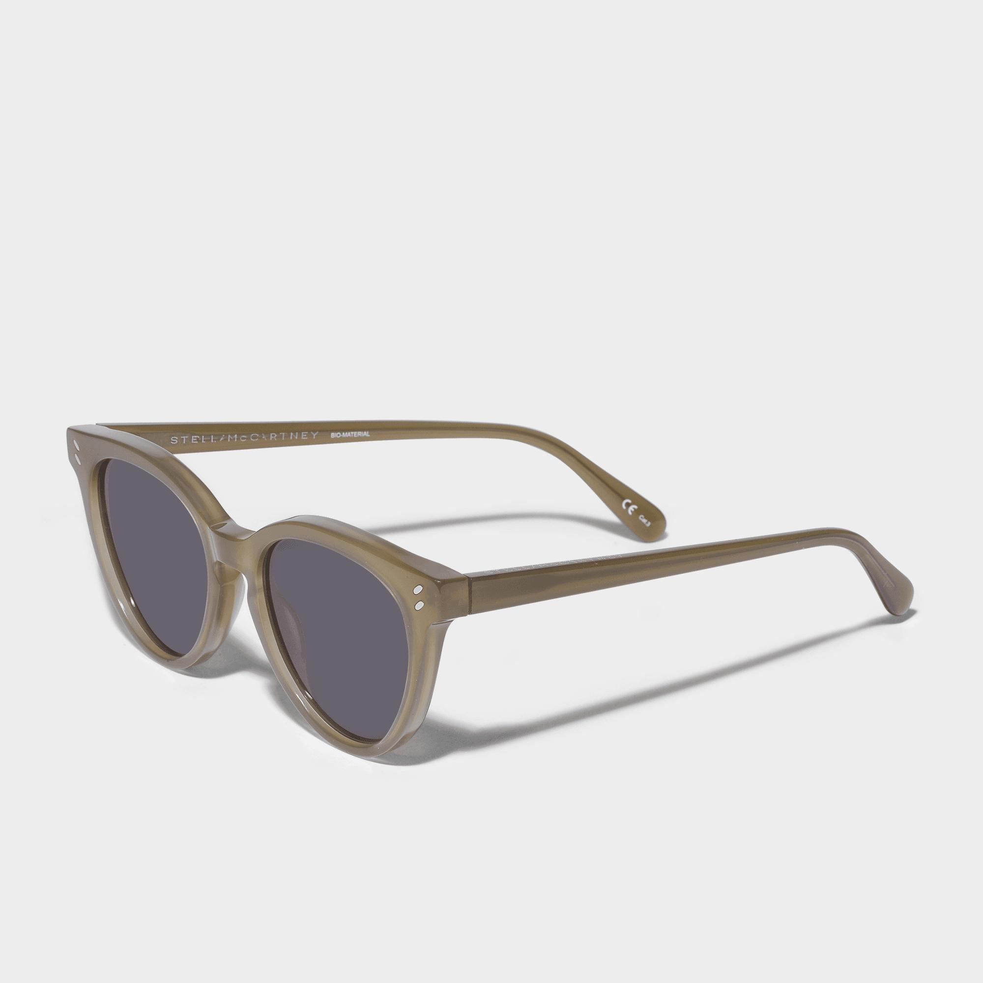 Bio-injected Sunglasses in Black Bio-Acetate Stella McCartney zOlHW0