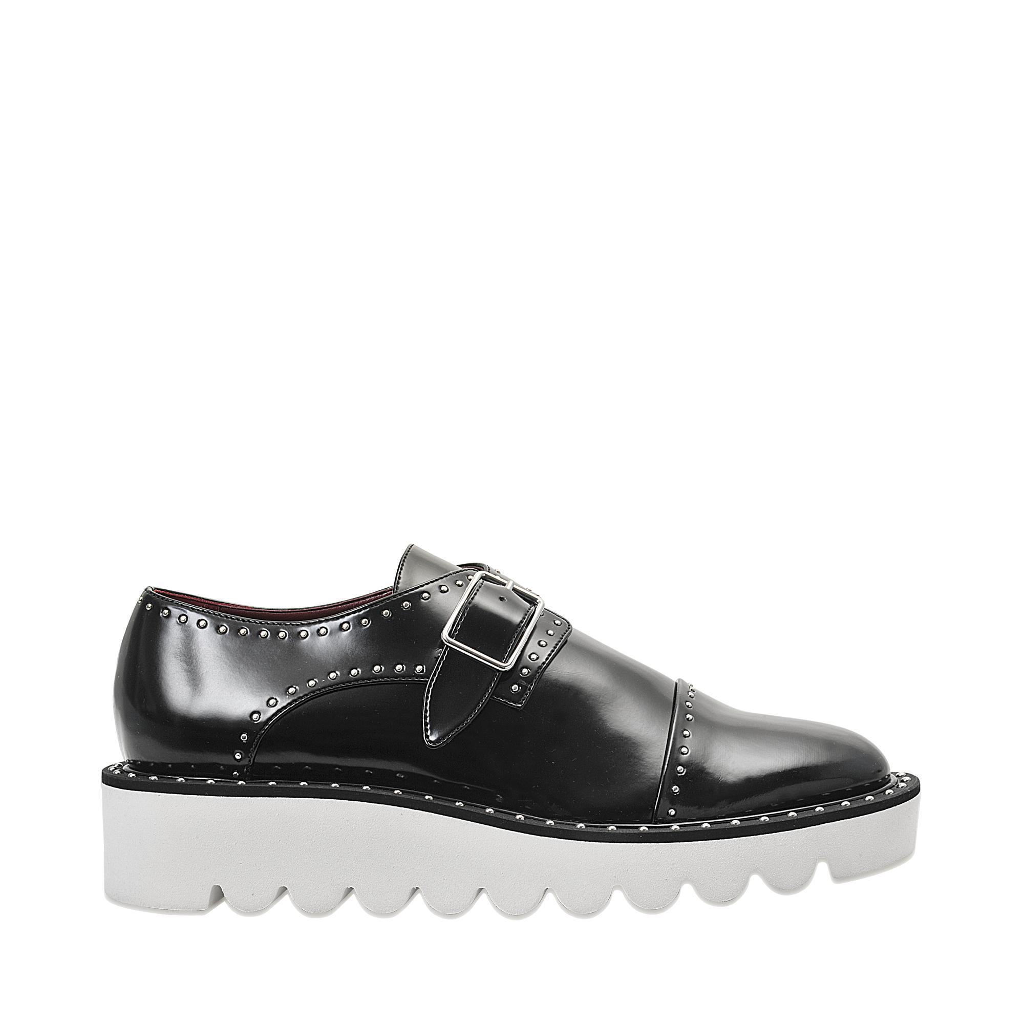 1d54a5699cb Lyst - Stella McCartney Odette Loafers in Black