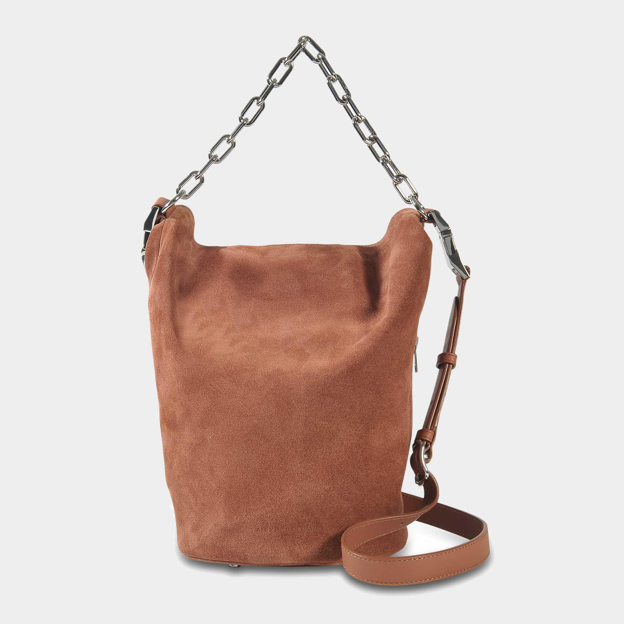 Attica Soft Dry Sack Bag in Terracotta Calfskin Alexander Wang lnN0P71
