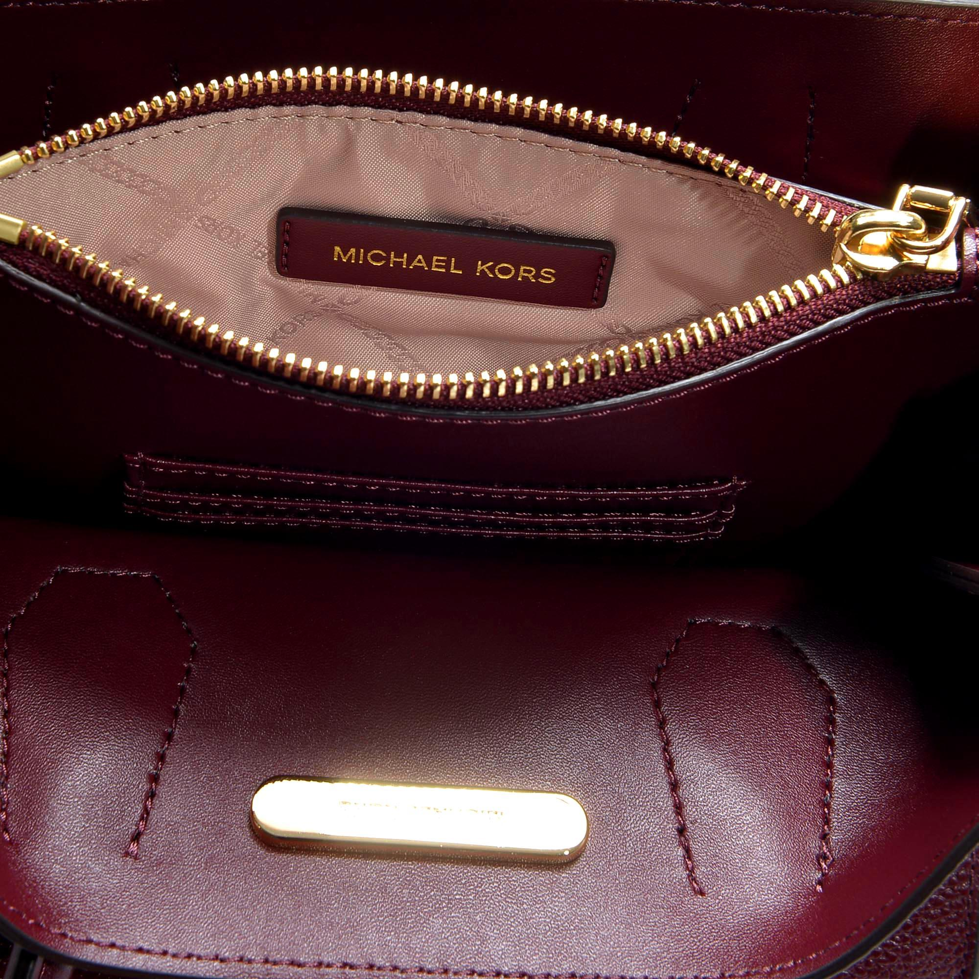 922e8e35d4fc71 MICHAEL Michael Kors - Red Mercer Accordion Messenger Bag - Lyst. View  fullscreen