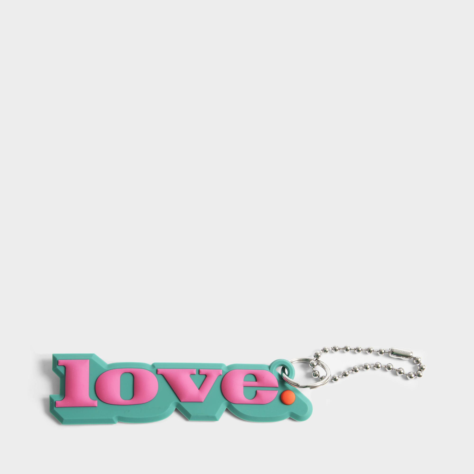 Marc Jacobs Silicone Love Charm Bag Accessory In Pink Silicone - Lyst