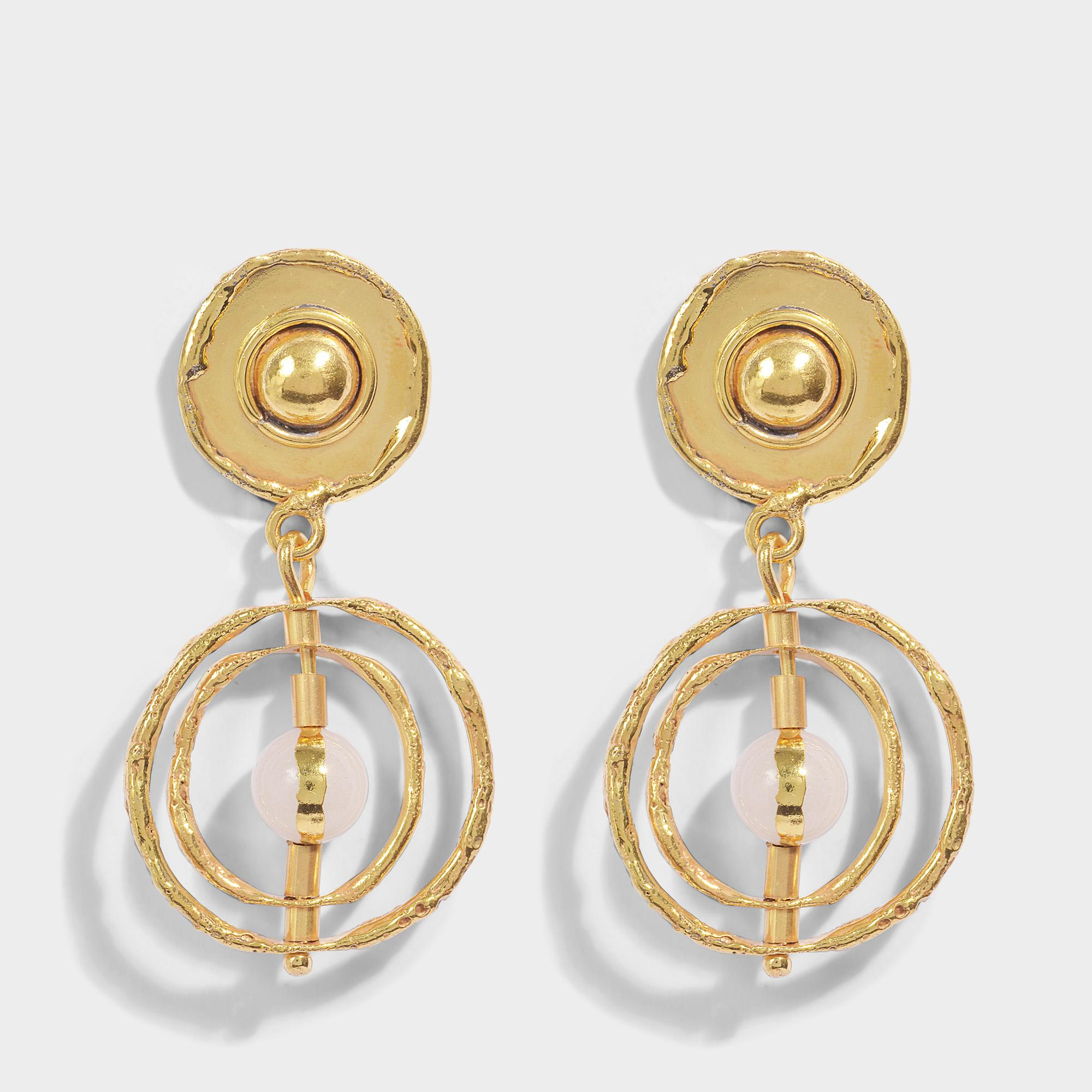 Sylvia Toledano Saturn earrings KdpWHkHI