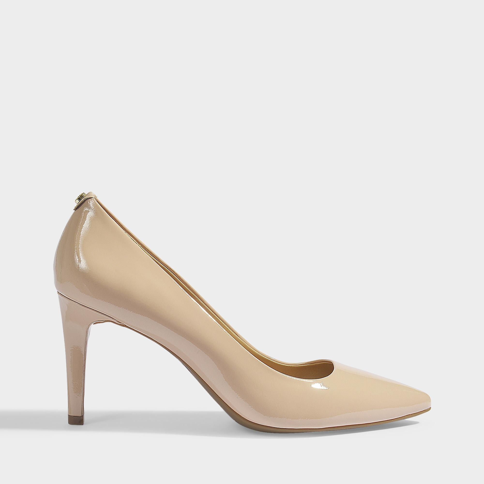6c59d488b07b Lyst - MICHAEL Michael Kors Dorothy Flex Pumps In Light Blush Patent ...