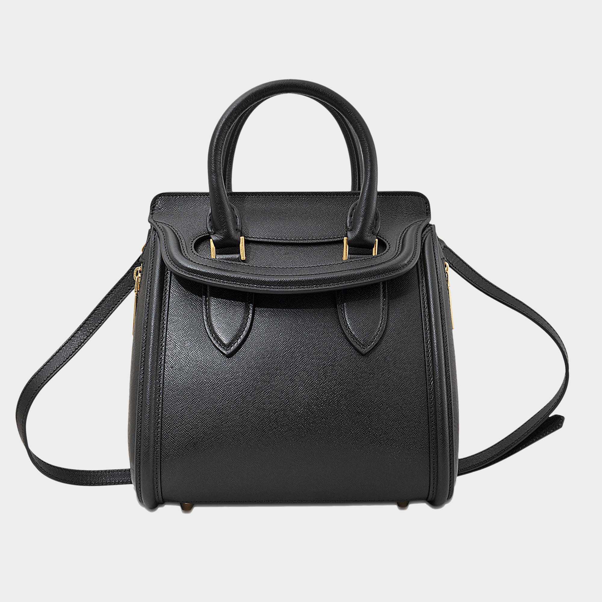 Lyst - Petit sac heroine Alexander McQueen en coloris Noir 8d829f9da12