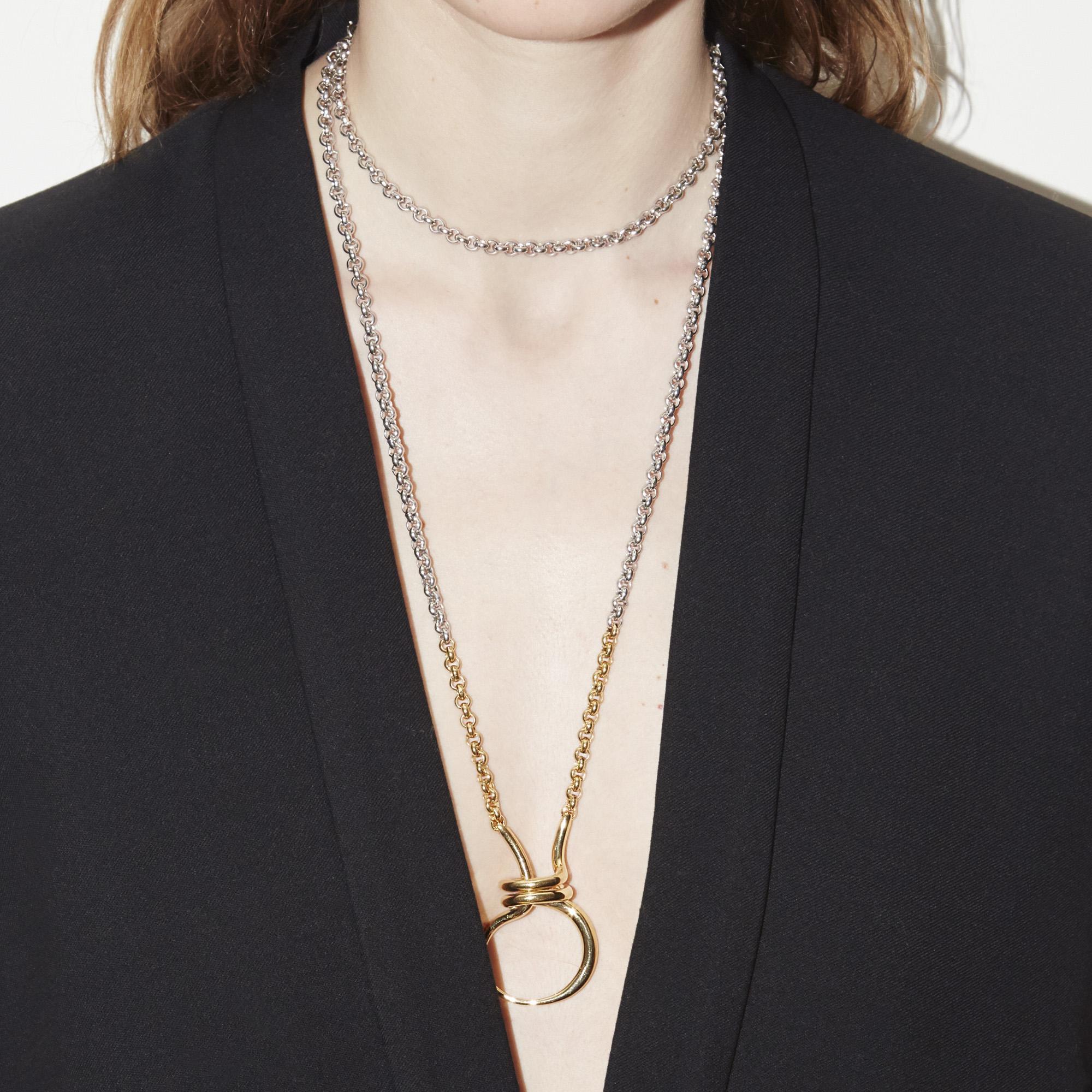 Charlotte Chesnais Round trip necklace BAHMkoOF
