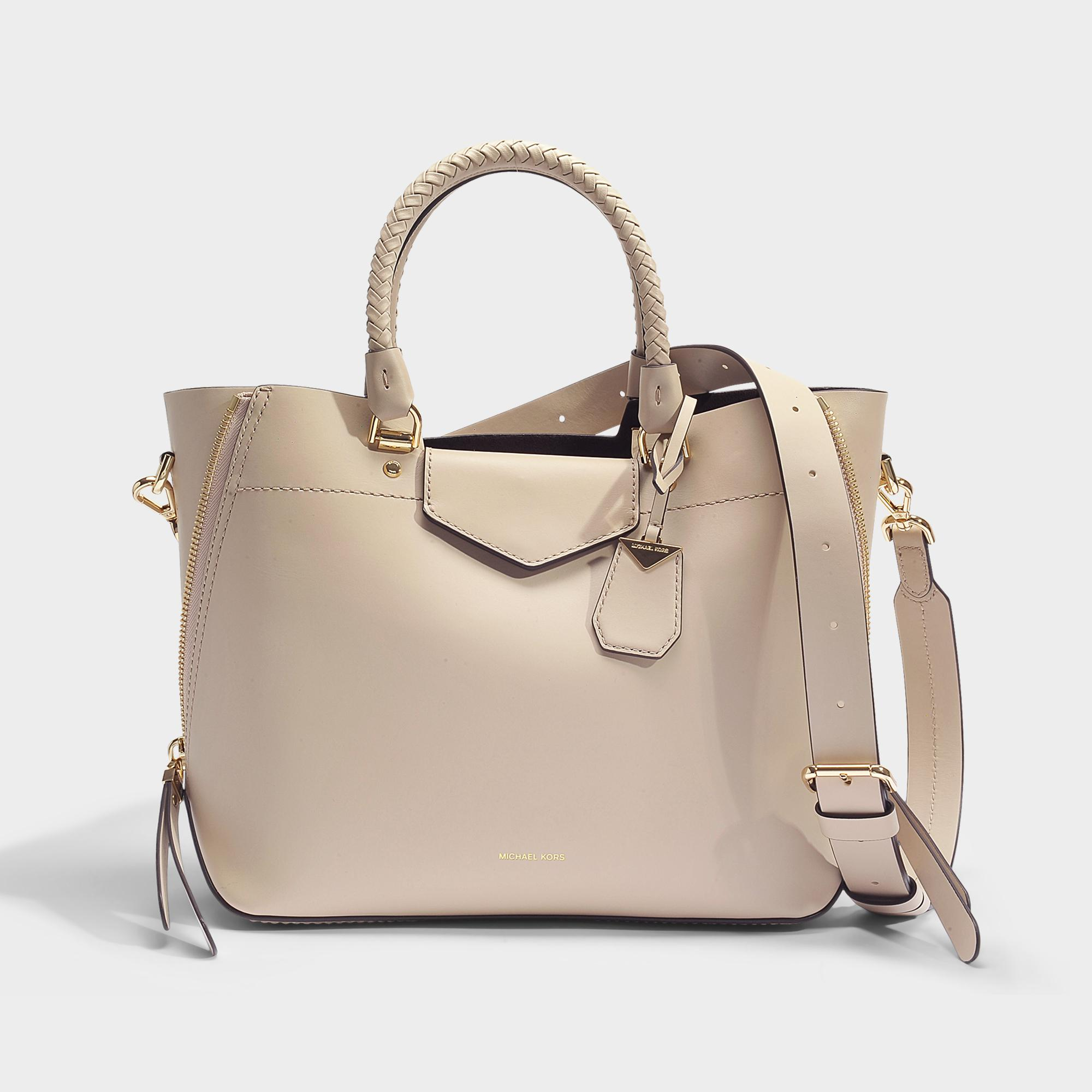 aaa0380e409a MICHAEL Michael Kors Blakely Medium Tote Bag In Oat Viola Leather - Lyst