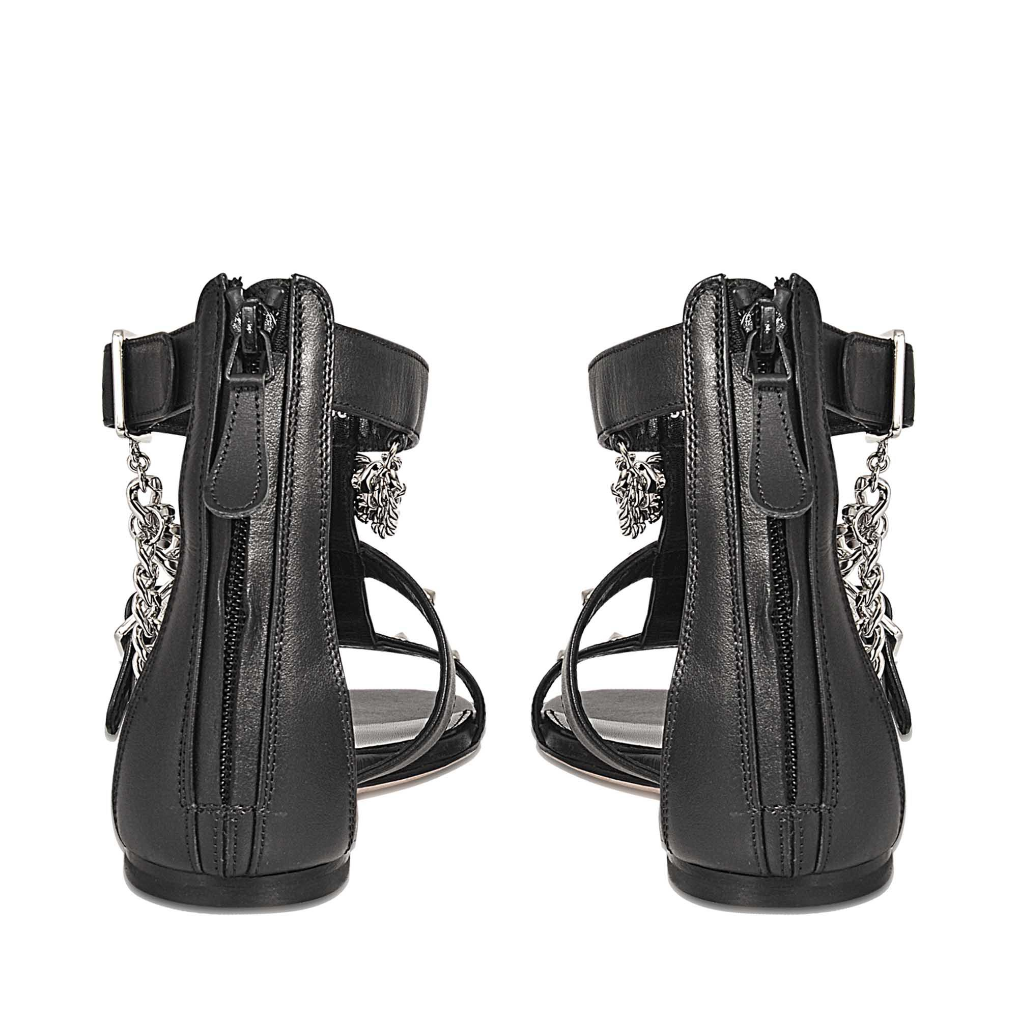 Flat sandal with chains Alexander McQueen