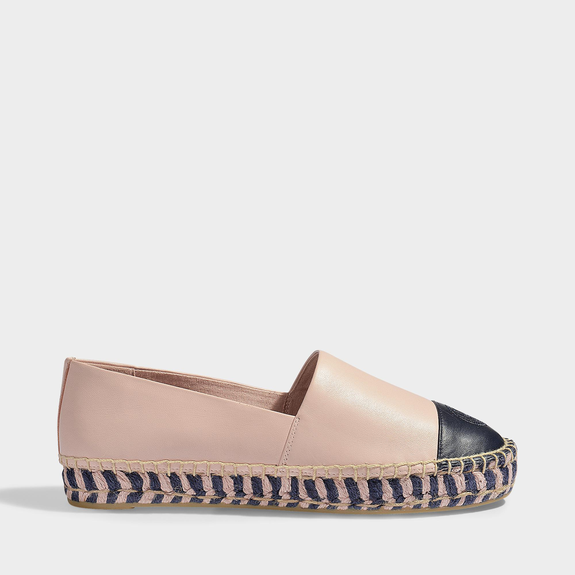 Colour black platform espadrilles Tory Burch 4KPqgo