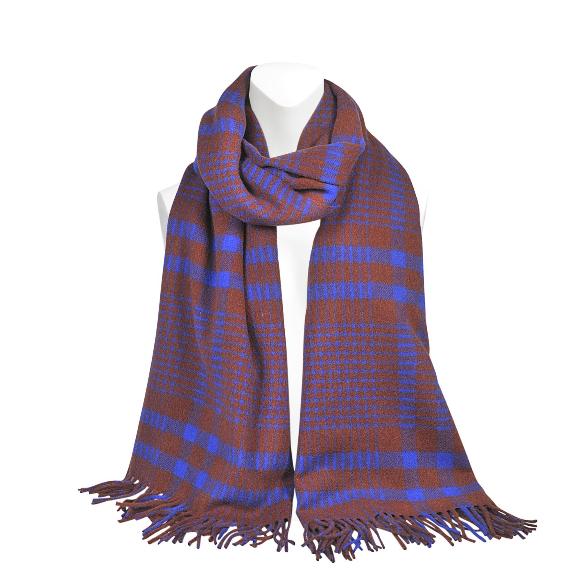 acne canada check scarf 70x200 lyst