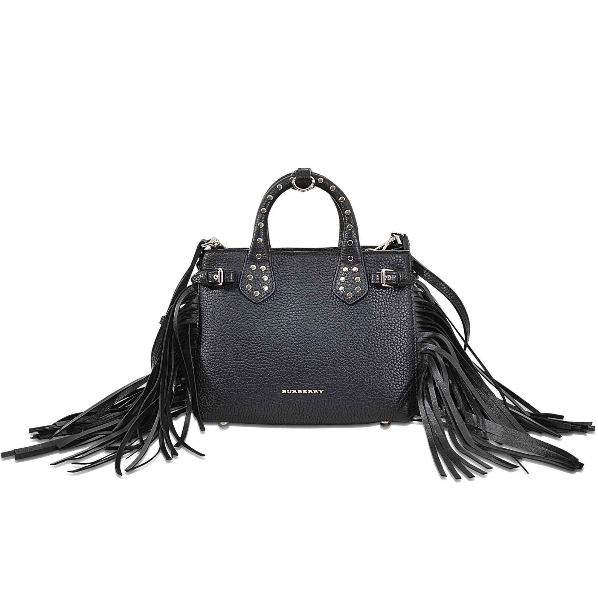 Lyst - Burberry Baby Banner Bag in Black a3bae84dbc1df