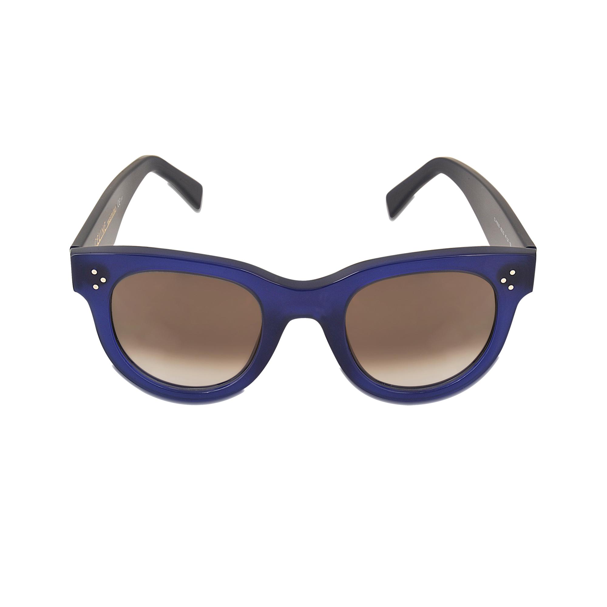 93c007b1bd7 Lyst - Céline Cl 41053 s Baby Audrey Sunglasses in Blue