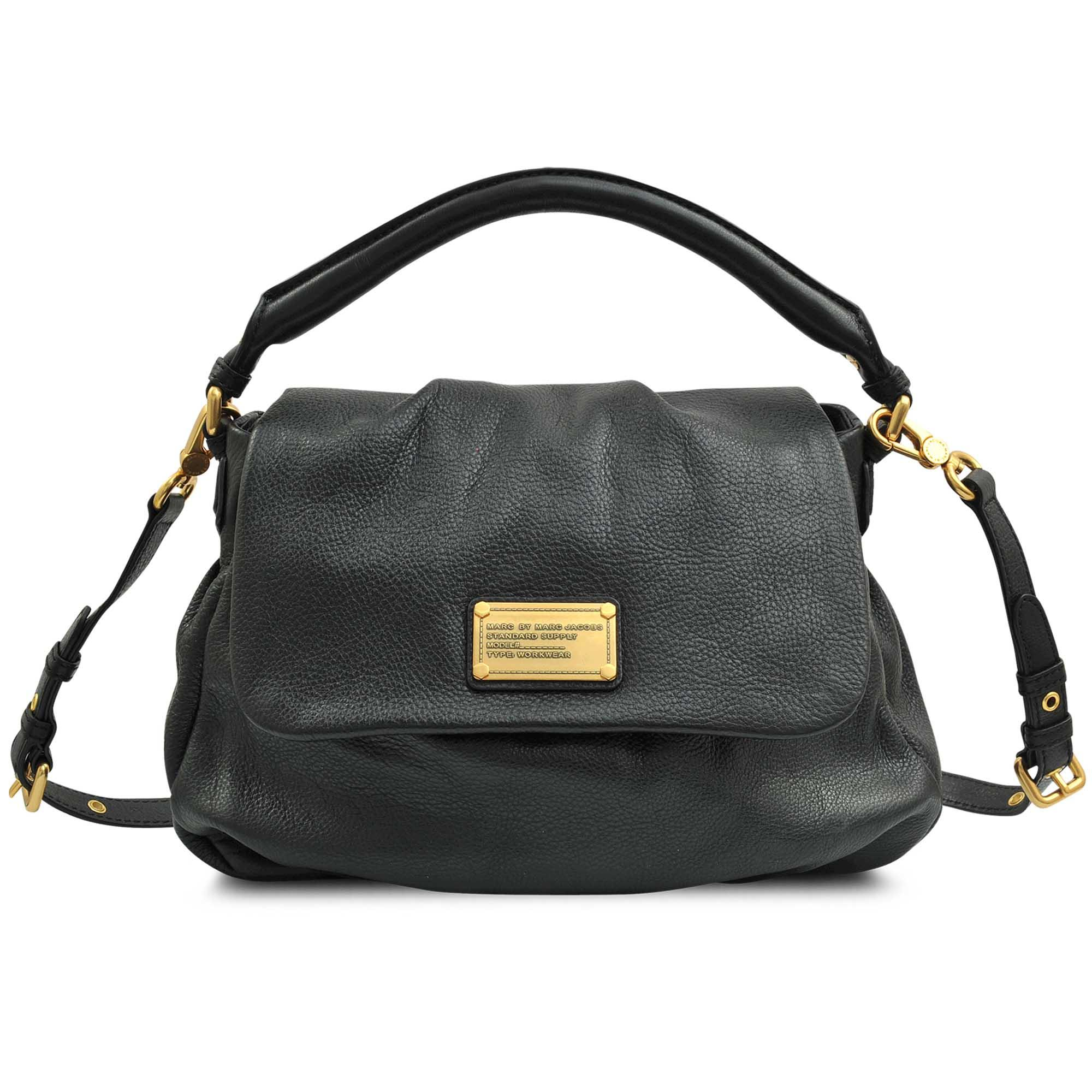 6167fde8d73525 Lyst - Marc By Marc Jacobs Lil Ukita Classic Q Hobo Bag in Black