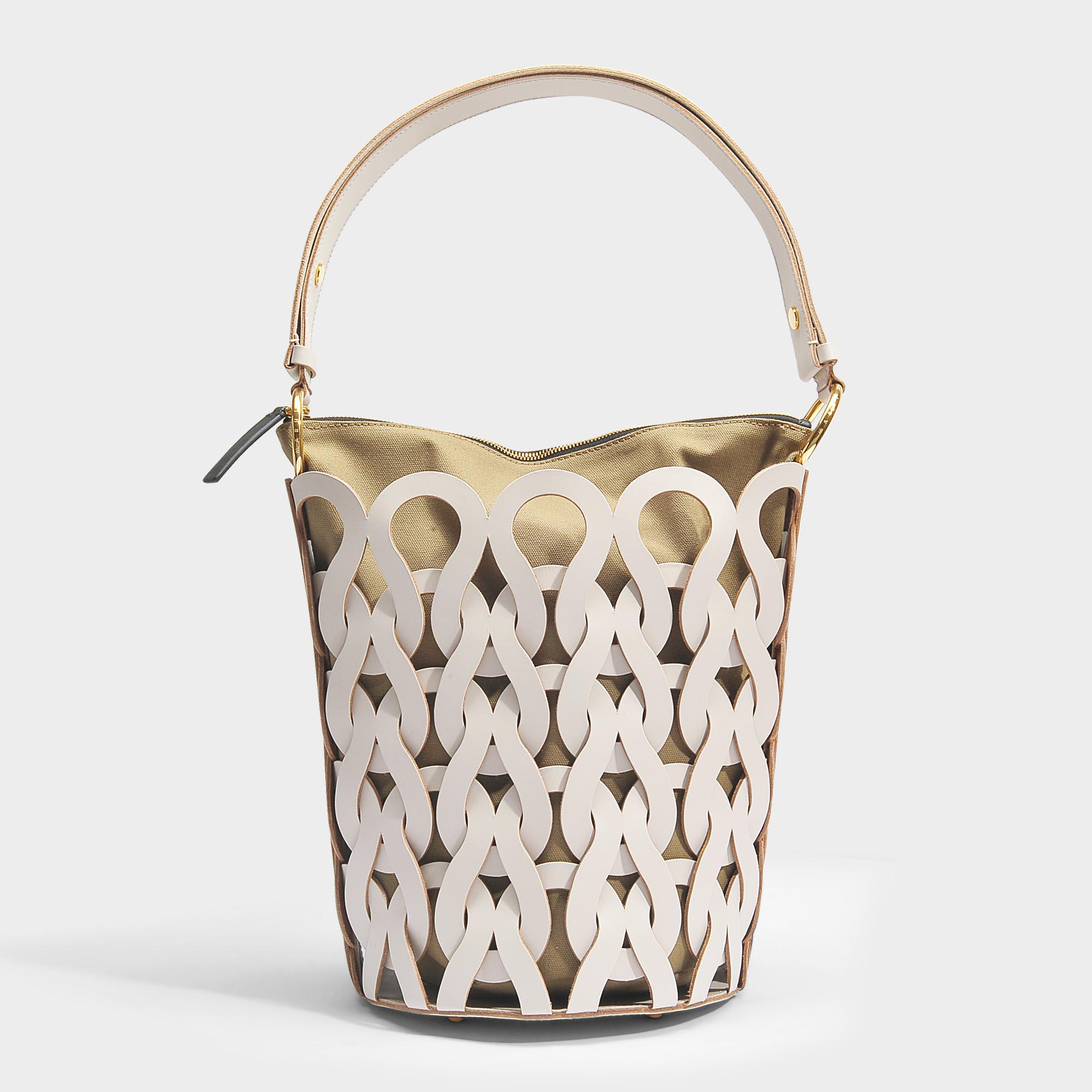 Trico Bucket Bag in Glass Calfskin Marni vVeLcufXf0