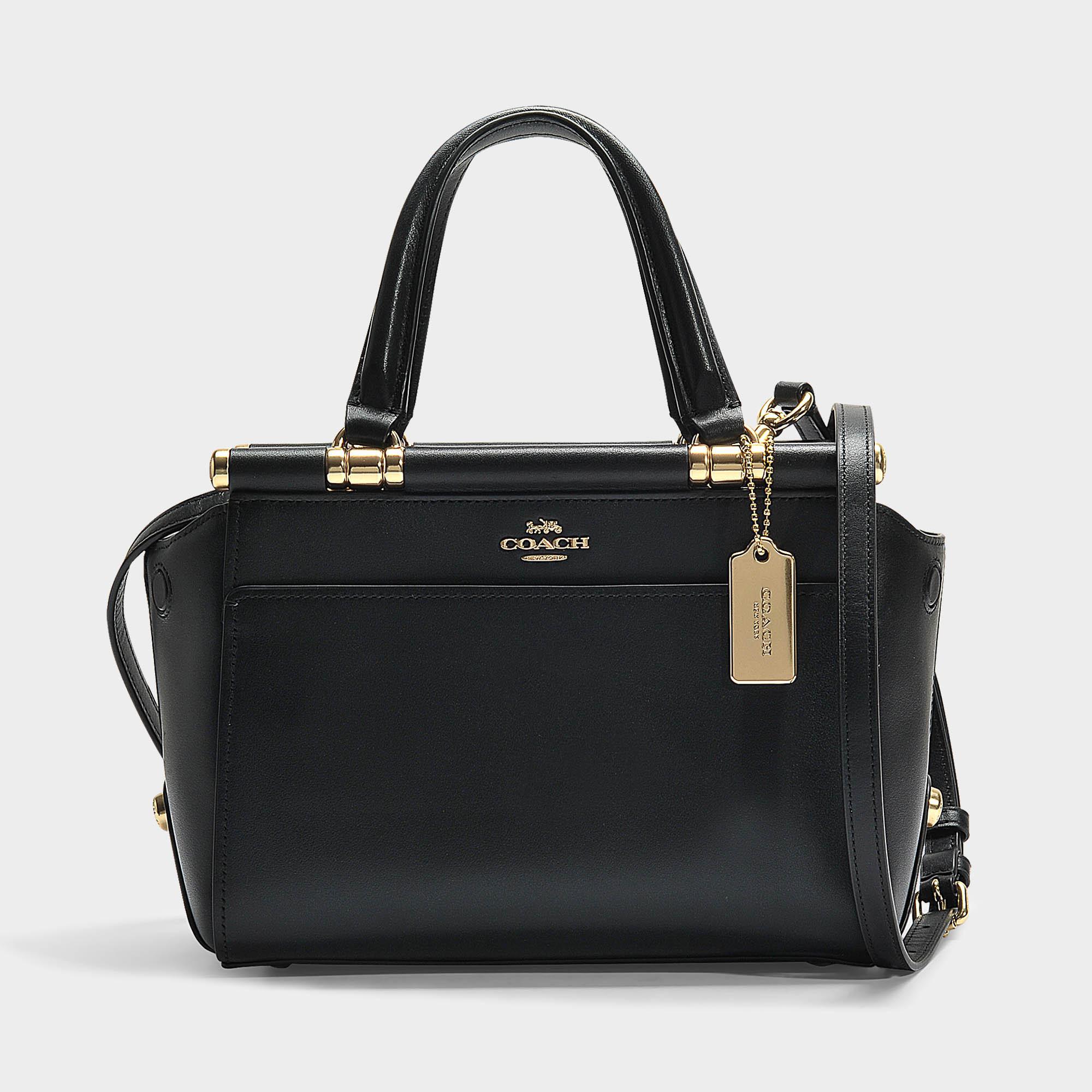 COACH Grace 20 Bag In Black Calfskin in Black - Lyst 7bda0ac2b6b42