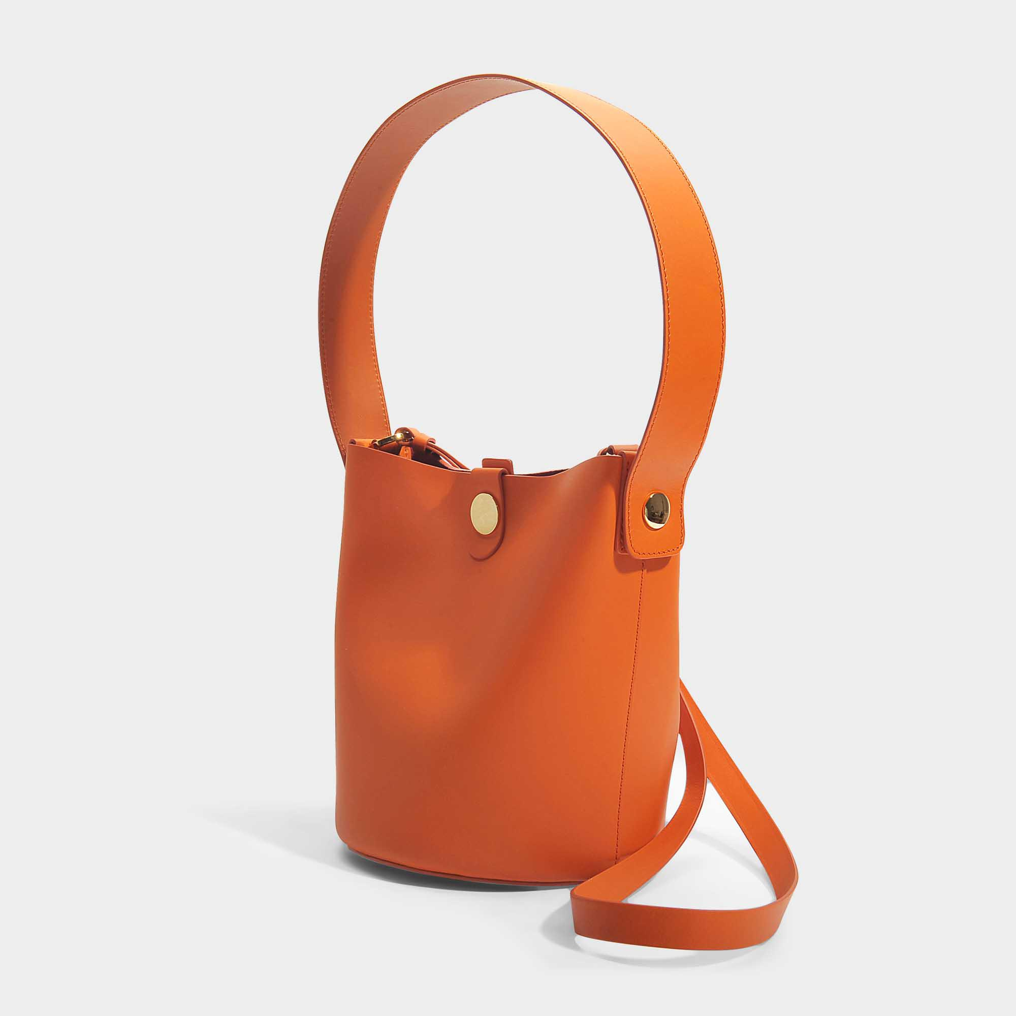 The Swing Bag in Clementine Cow Leather Sophie Hulme XUYfwmt