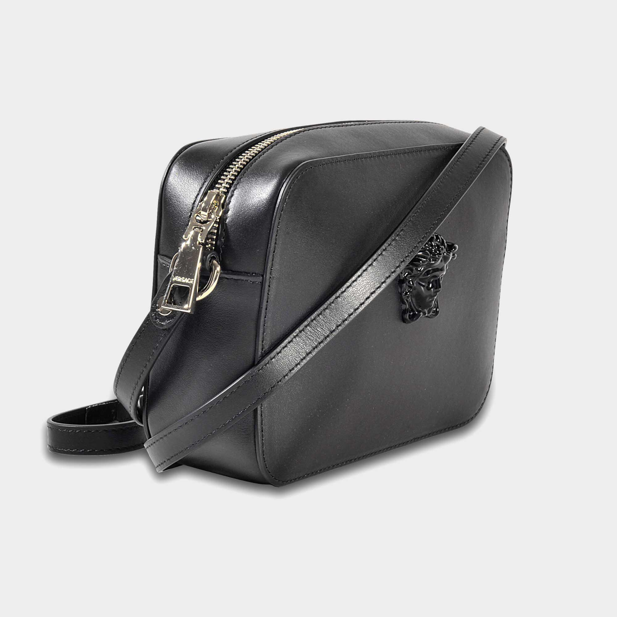 46b593ebe271 Lyst - Versace Palazzo Camera Bag in Black