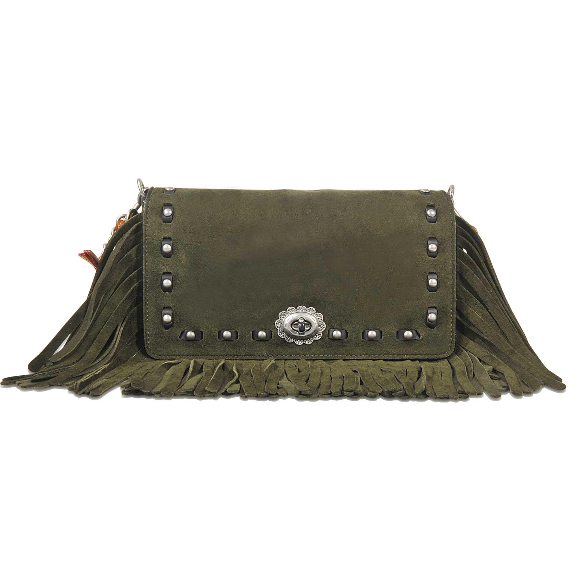 a8af5c35489 Coach Dinky 24 Crossbody In Glovetan Leather in Green - Save ...