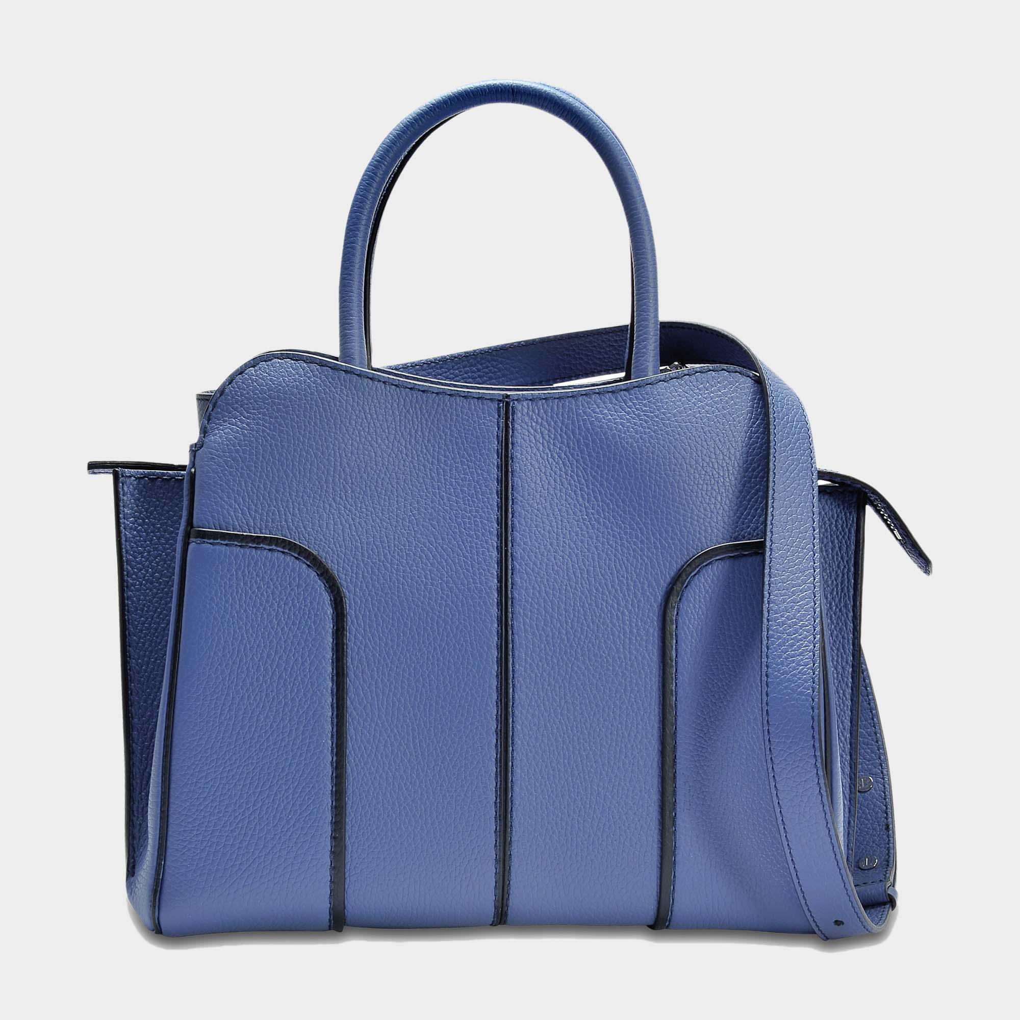 acheter populaire 8e43f 0491a Lyst - Tod's Petit Sac Sella in Blue