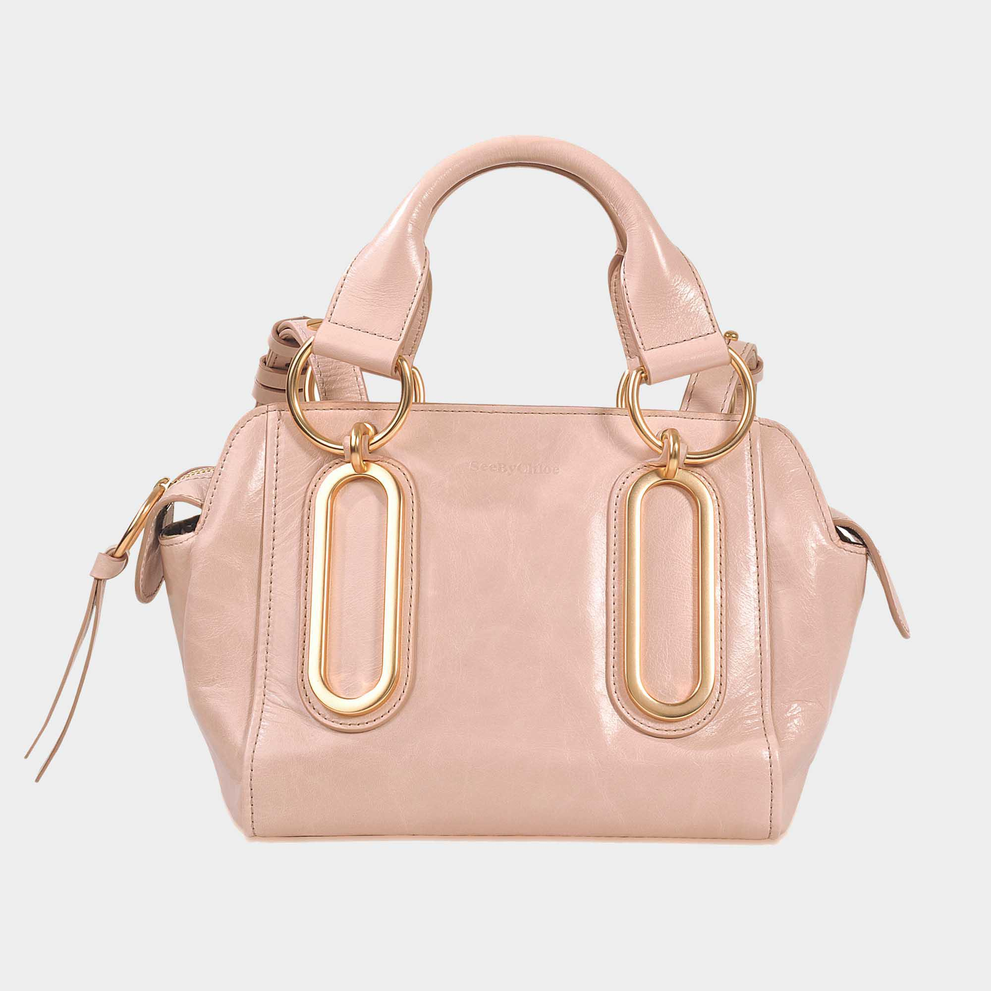 See By Chloé Paige Small Bag in Pink - Lyst 2eda8a1a480