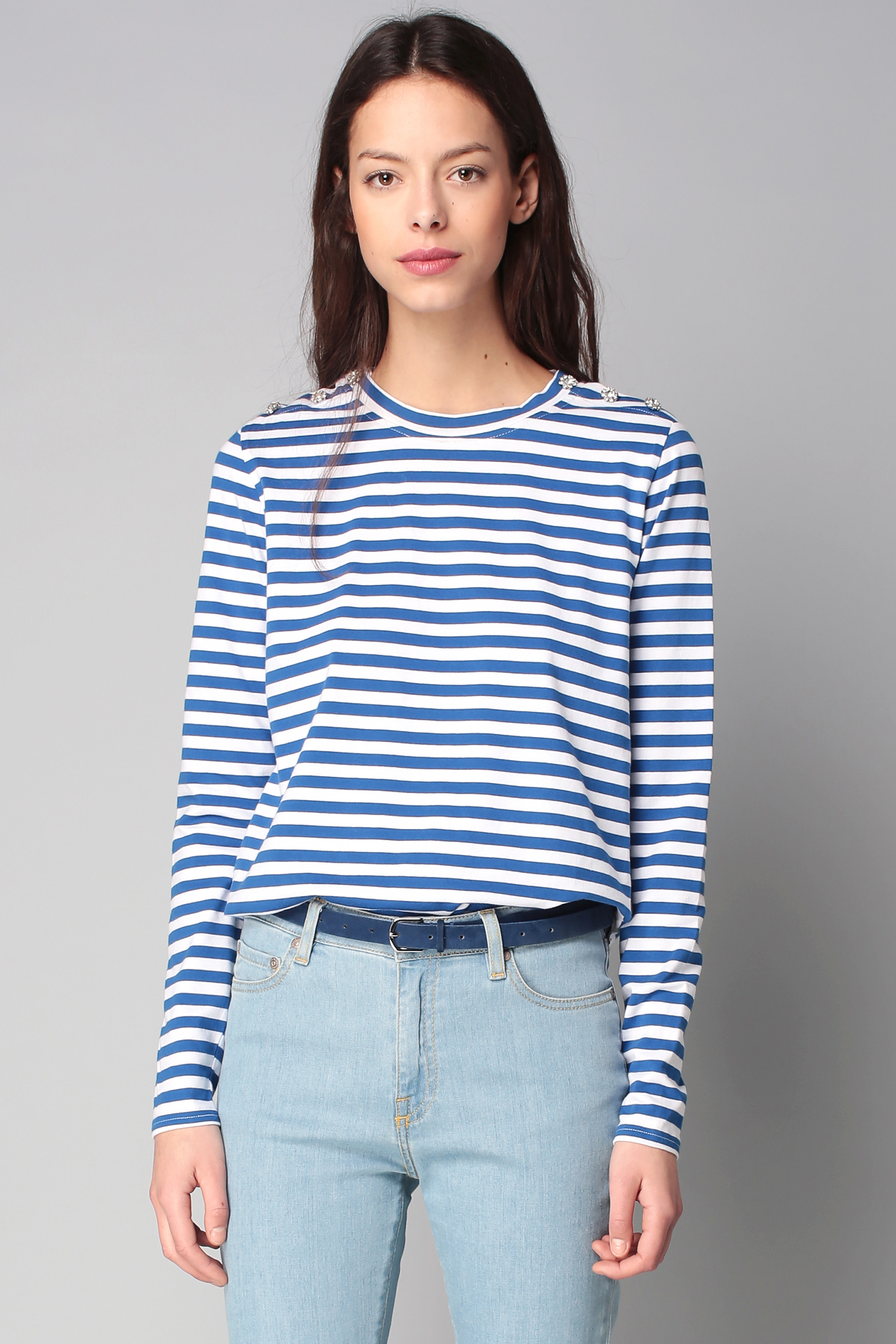 Find long-sleeve blue tops at ShopStyle. Shop the latest collection of long-sleeve blue tops from the most popular stores - all in one place.