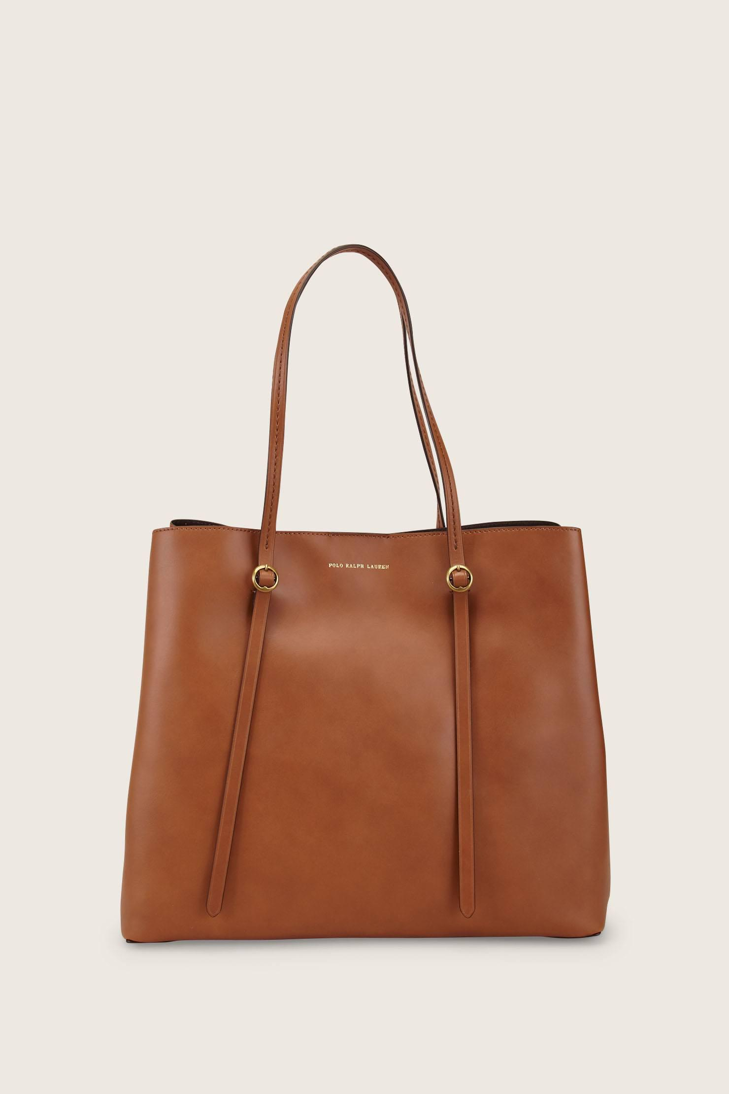 520c889ad65 Polo Ralph Lauren Tote Bags in Brown - Lyst