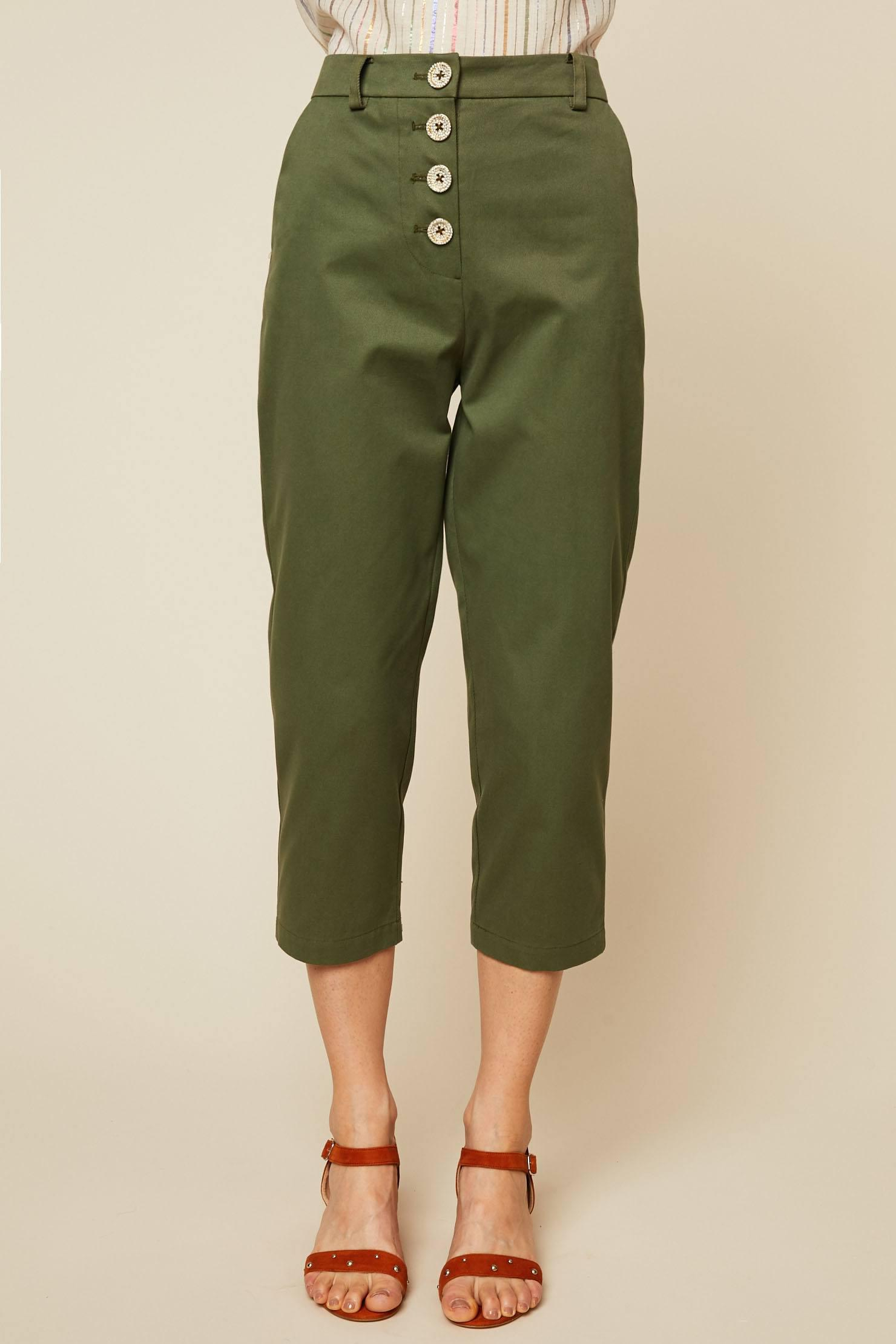 TROUSERS - 3/4-length trousers Manoush ytqWrZ