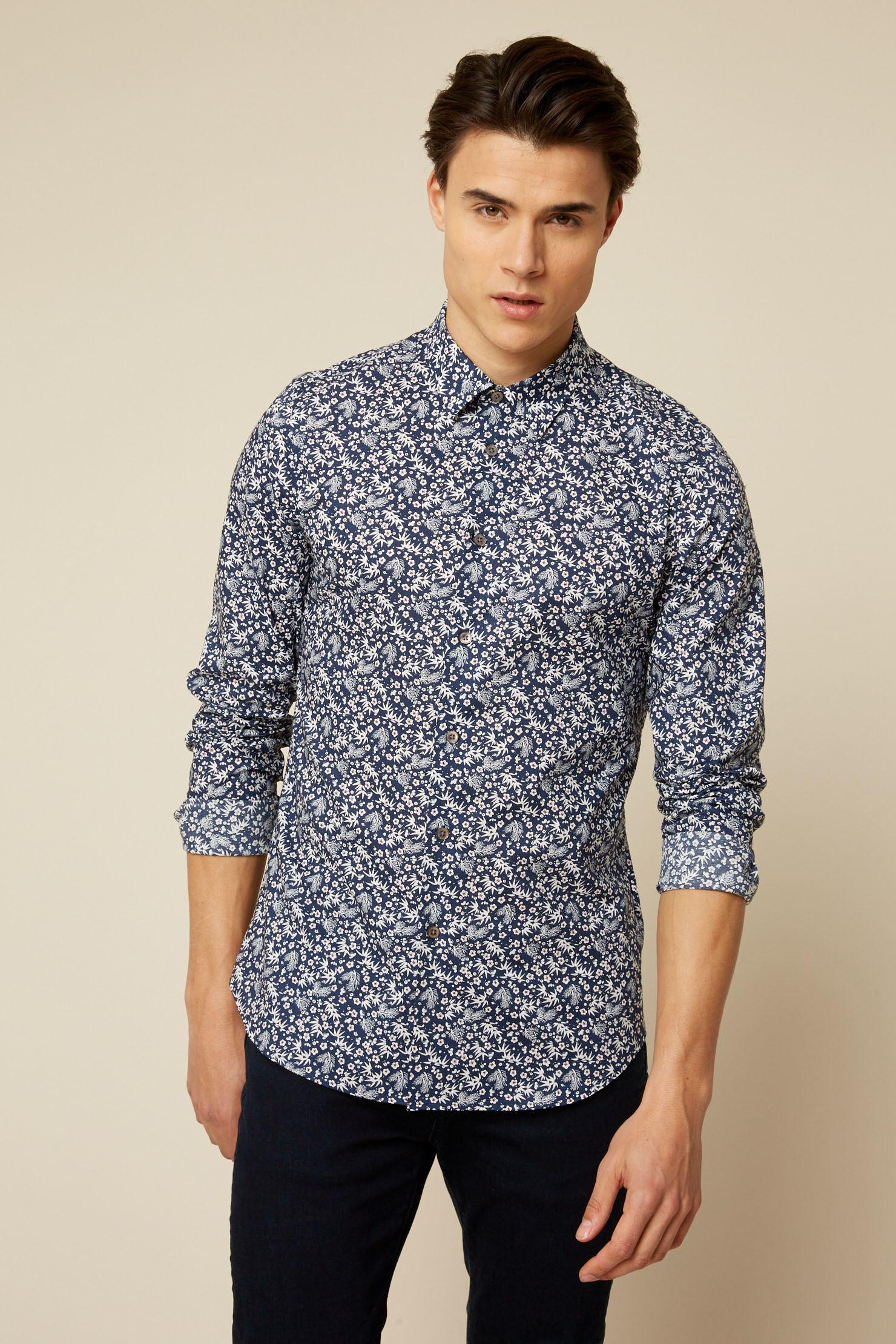 97d8a483 Ps By Paul Smith Long Sleeve Shirt in Blue for Men - Lyst