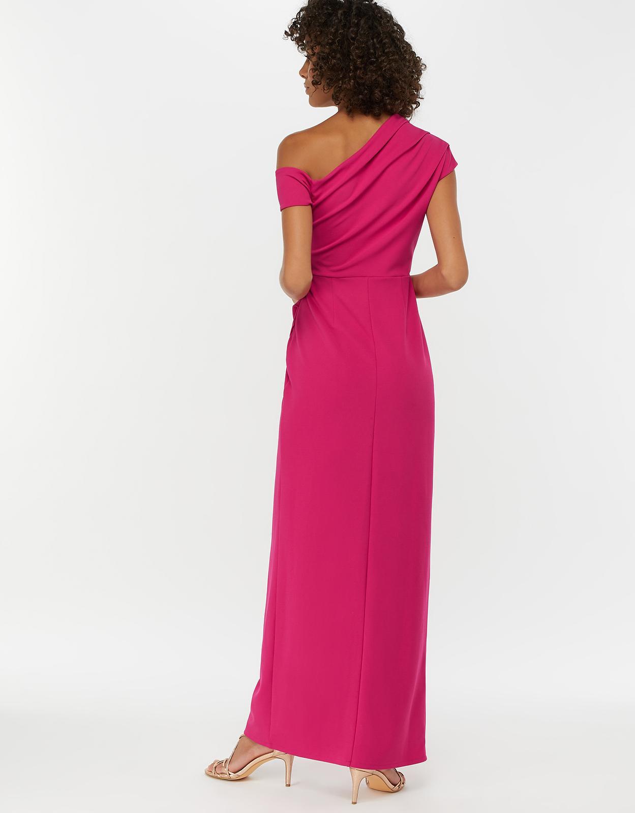 77c7a8f4 Monsoon Senorita Drape Detail Maxi Dress in Pink - Save 28% - Lyst