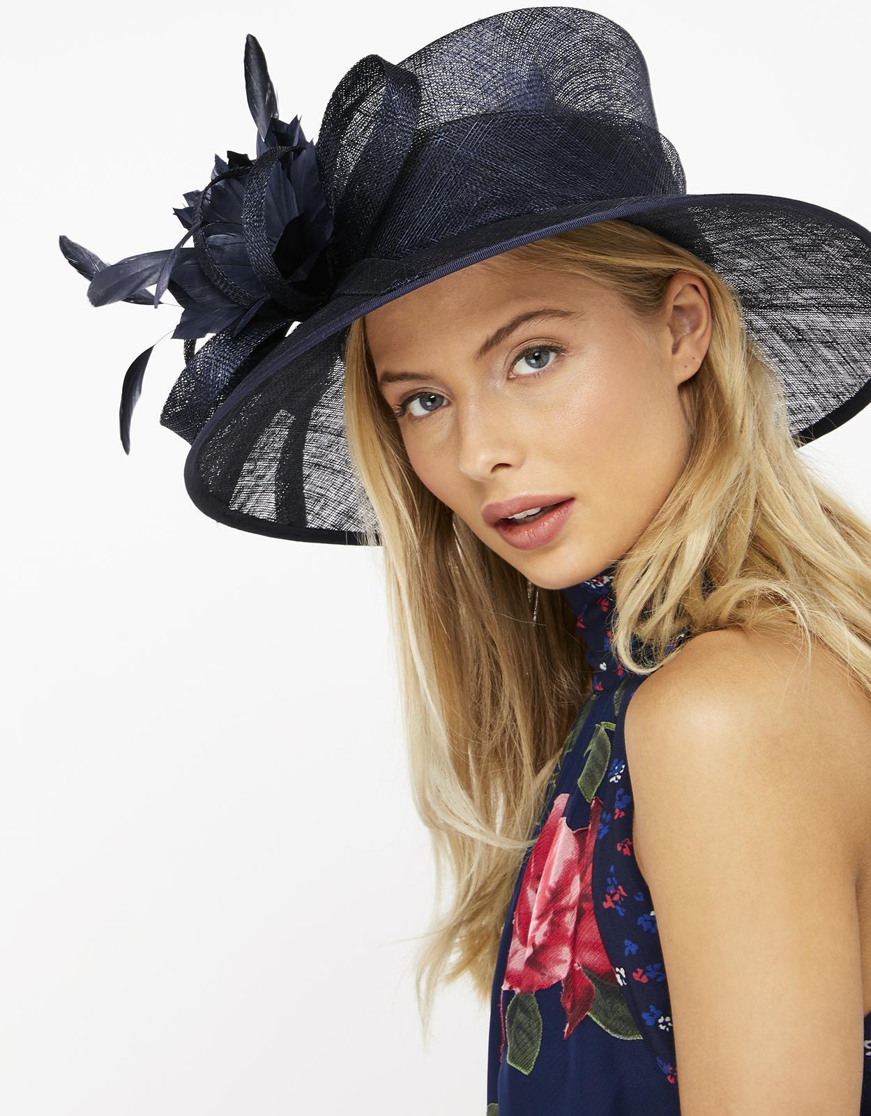 d8a7bcbb48a67e Monsoon Clarissa Corsage Hat in Blue - Lyst