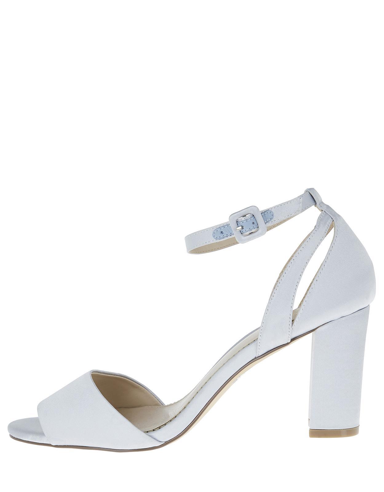 5cc8fb20b Monsoon Blossom Bridesmaid Sandals in Blue - Lyst