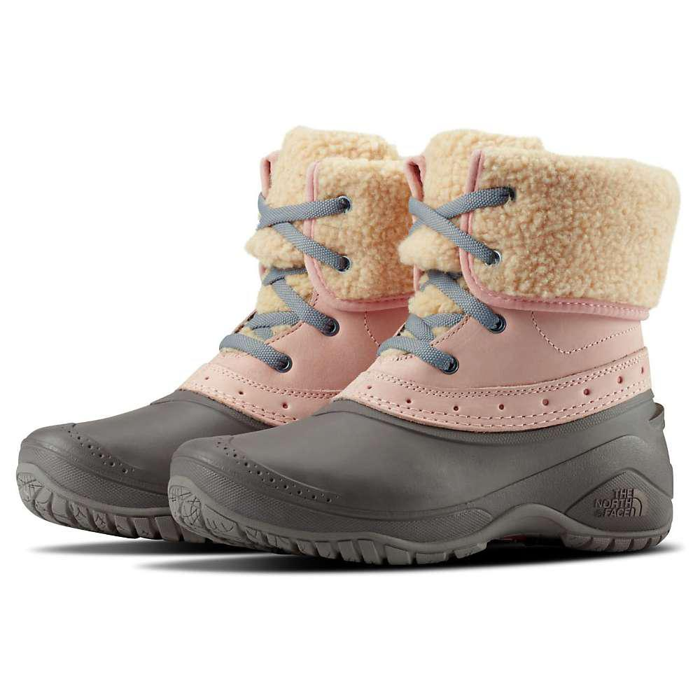 04bd6dff9956c Lyst - The North Face Shellista Roll Down Pink Boot in Pink