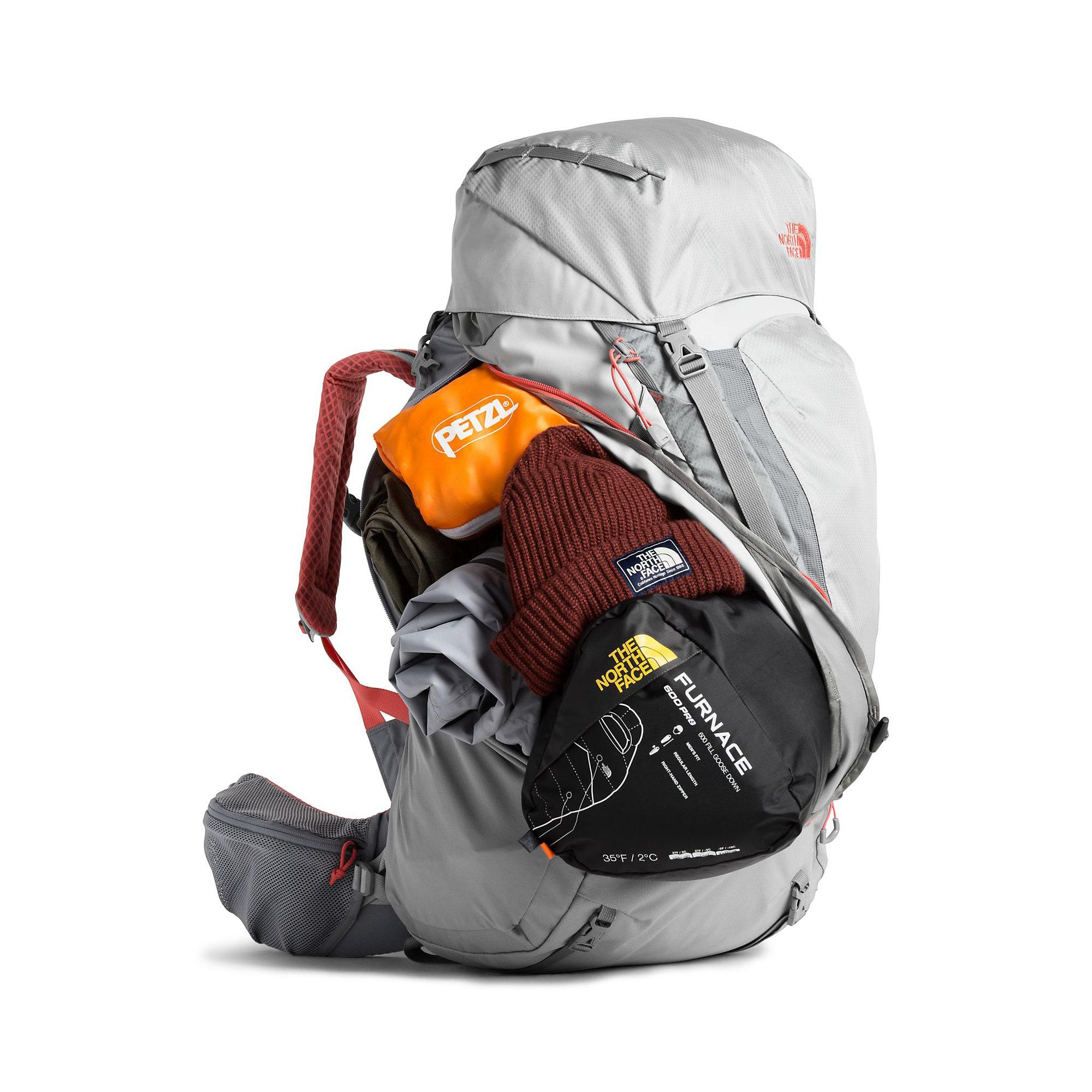 ba2f82c8d The North Face Terra 55 Pack in Gray - Lyst