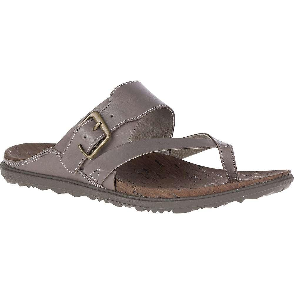 d939d77e1af Lyst - Merrell Around Town Luxe Buckle Thong in Brown