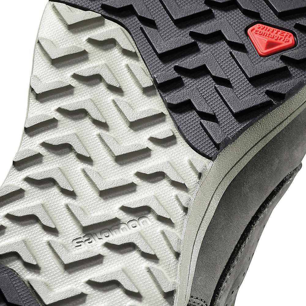 4125102c9a Yves Salomon - Black Utility Winter Cs Waterproof Shoe for Men - Lyst. View  fullscreen