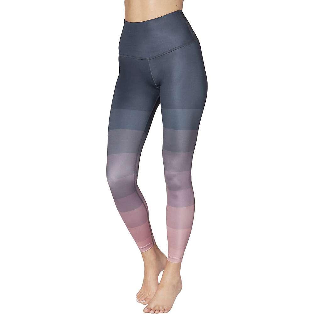 295b6030cade6d Lyst - Beyond Yoga Enineered Lux High Waisted Midi Legging in Blue ...