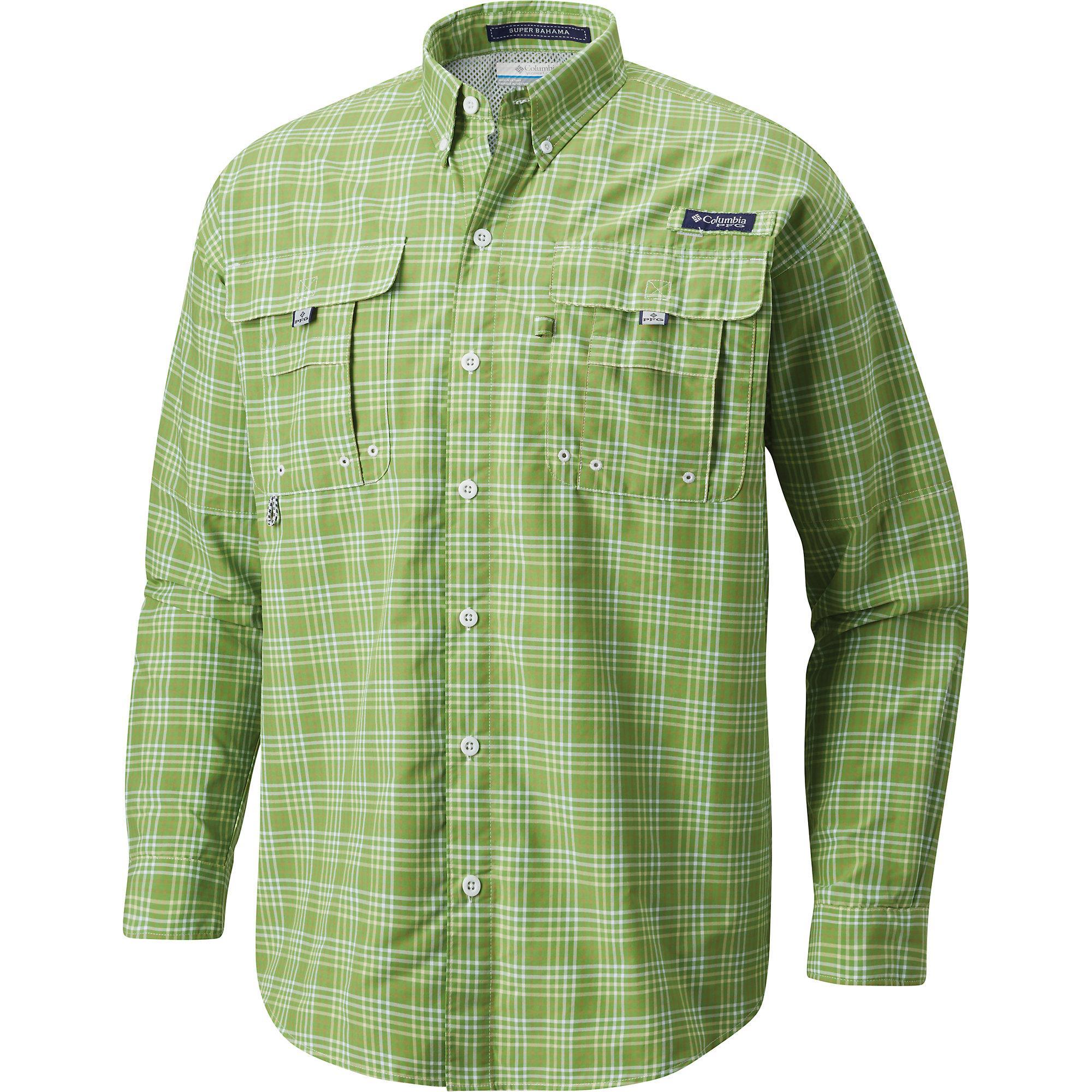 ebb24a08a7a Columbia - Green Super Bahama Ls Shirt for Men - Lyst. View fullscreen