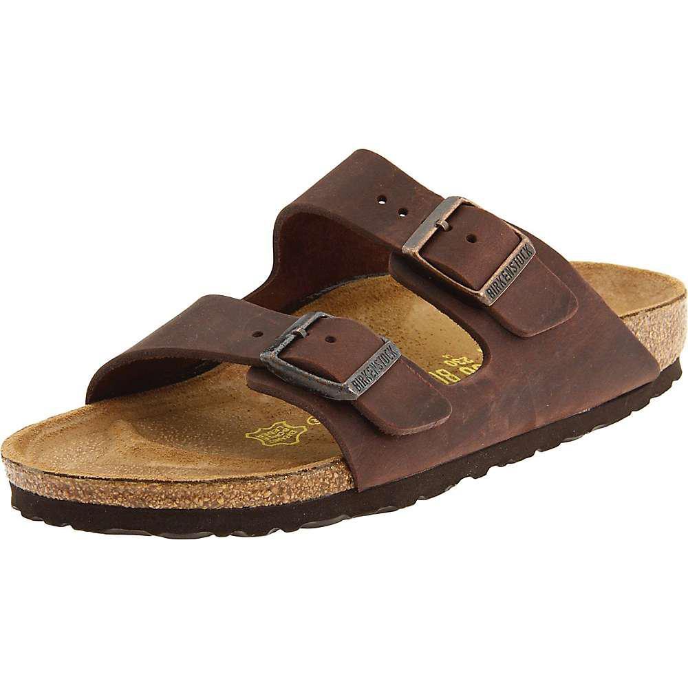 5ecd9c1b9a37 Birkenstock - Brown Birkenstock Arizona Soft Footbed Sandal - Lyst. View  fullscreen